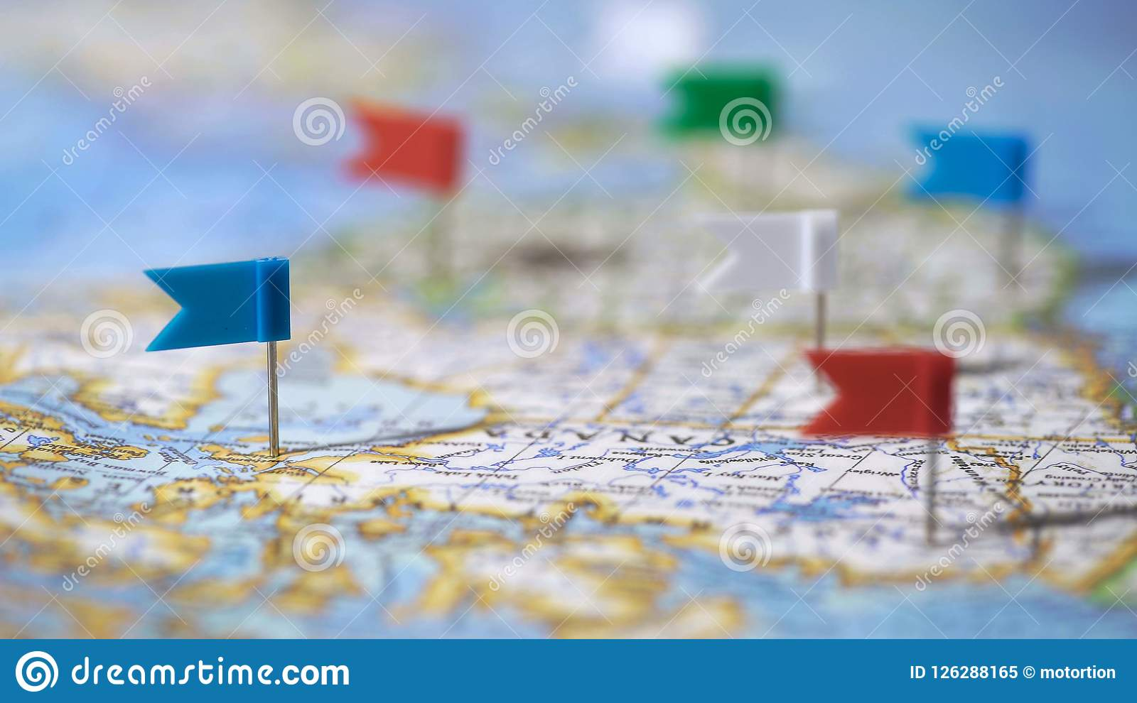 Travel Destinations In Canada Marked With Pins On World Map ... on canada town map, canada weather map, canada landscape map, canada topographic map, canada shipping map, canada territory map, canada language map, canada things to do, canada climate map, canada cultural map, canada exports map, canada provinces map, canada regions map, canada property map, canada airlines map, canada tourist attractions, canada road map, canada geography map, canada city map, canada transportation map,