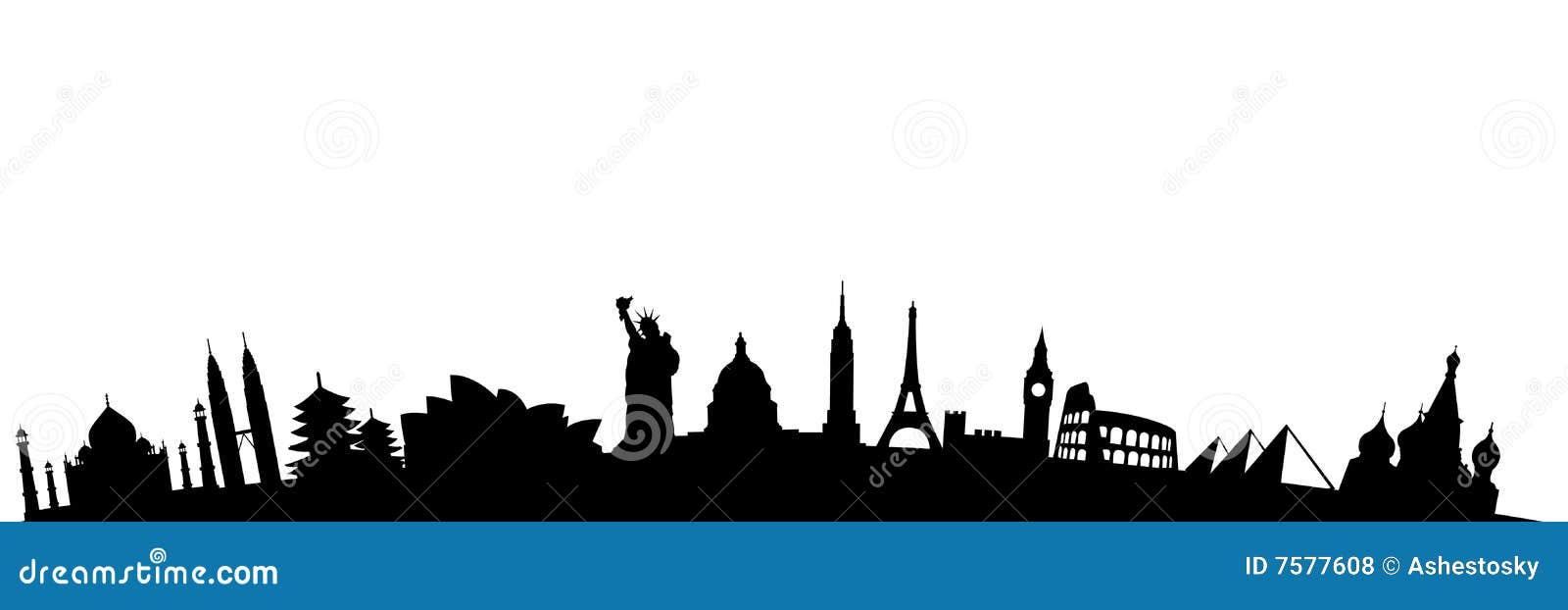 Travel destinations landmarks