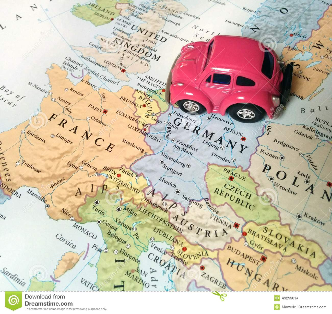 Traveling Around Italy By Car