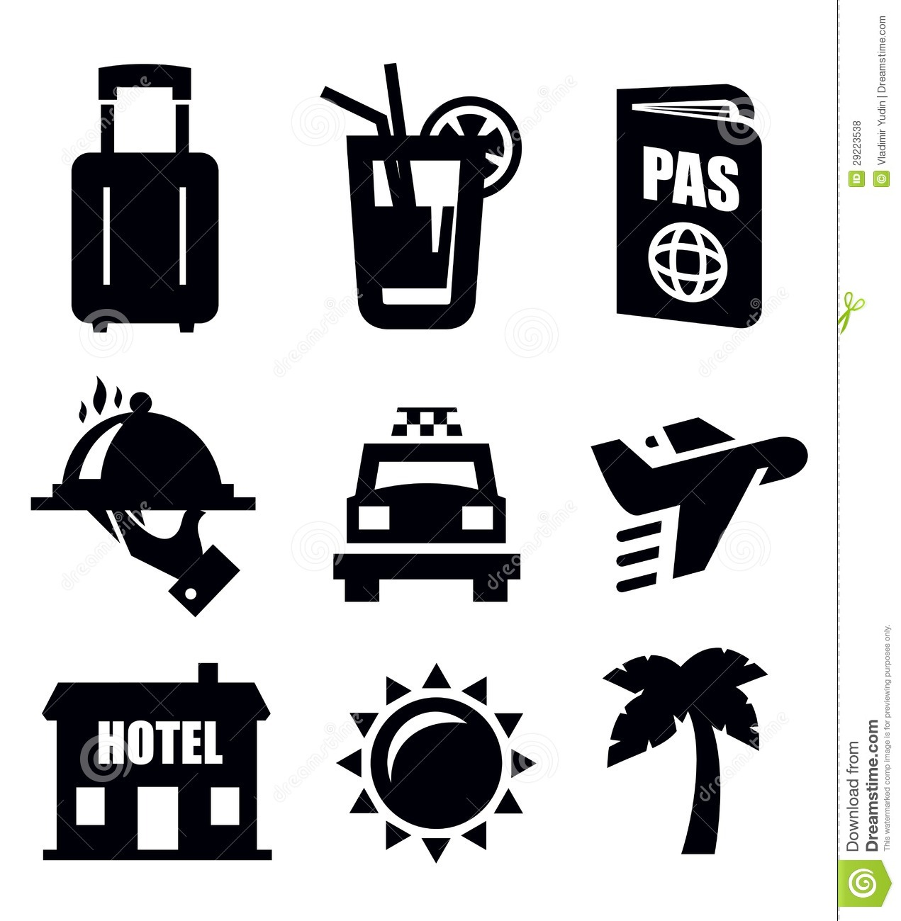 travel icon stock vector  illustration of tourism