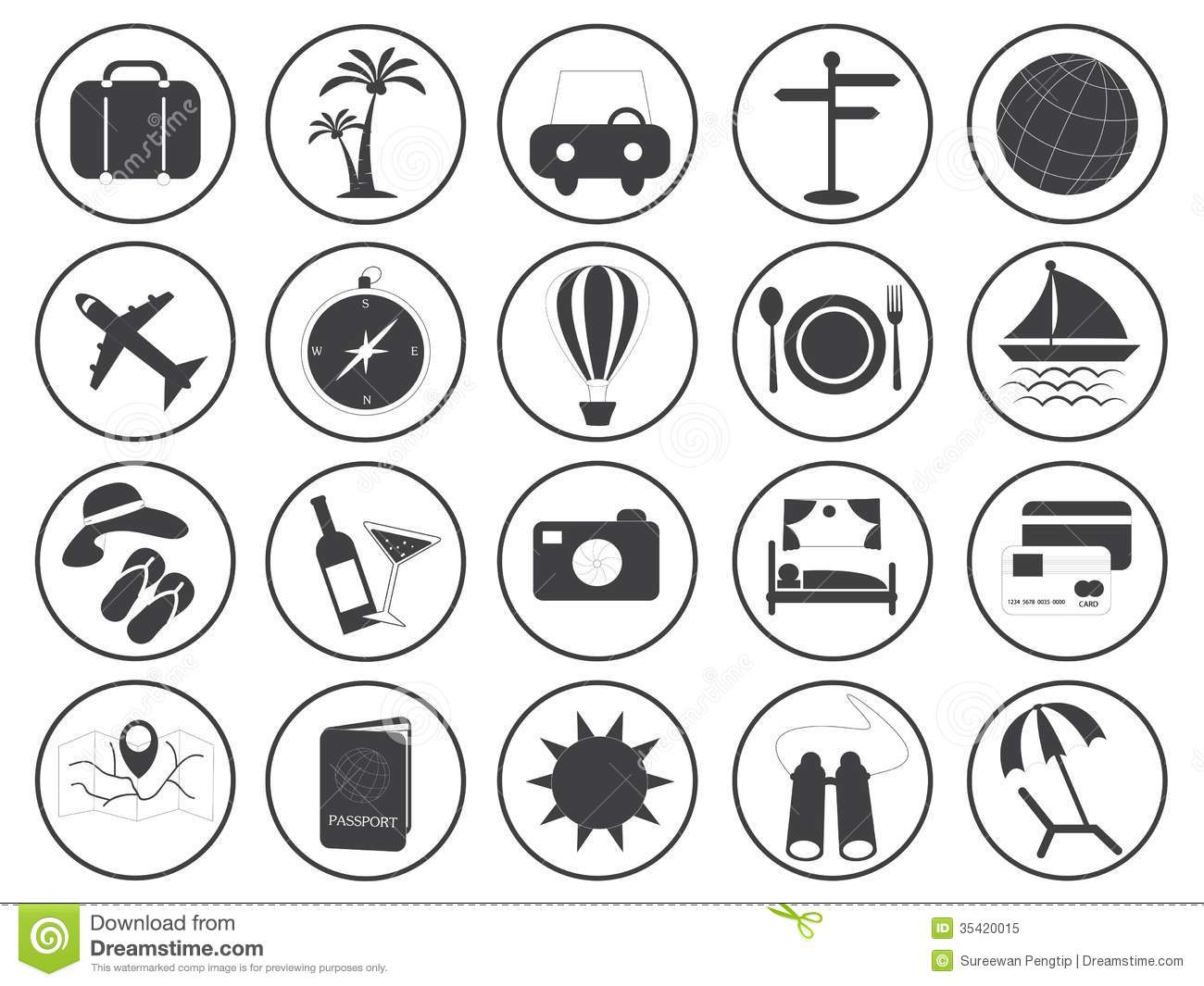 travel icons vector collection stock vector illustration vector binoculars for sale vector binoculars price