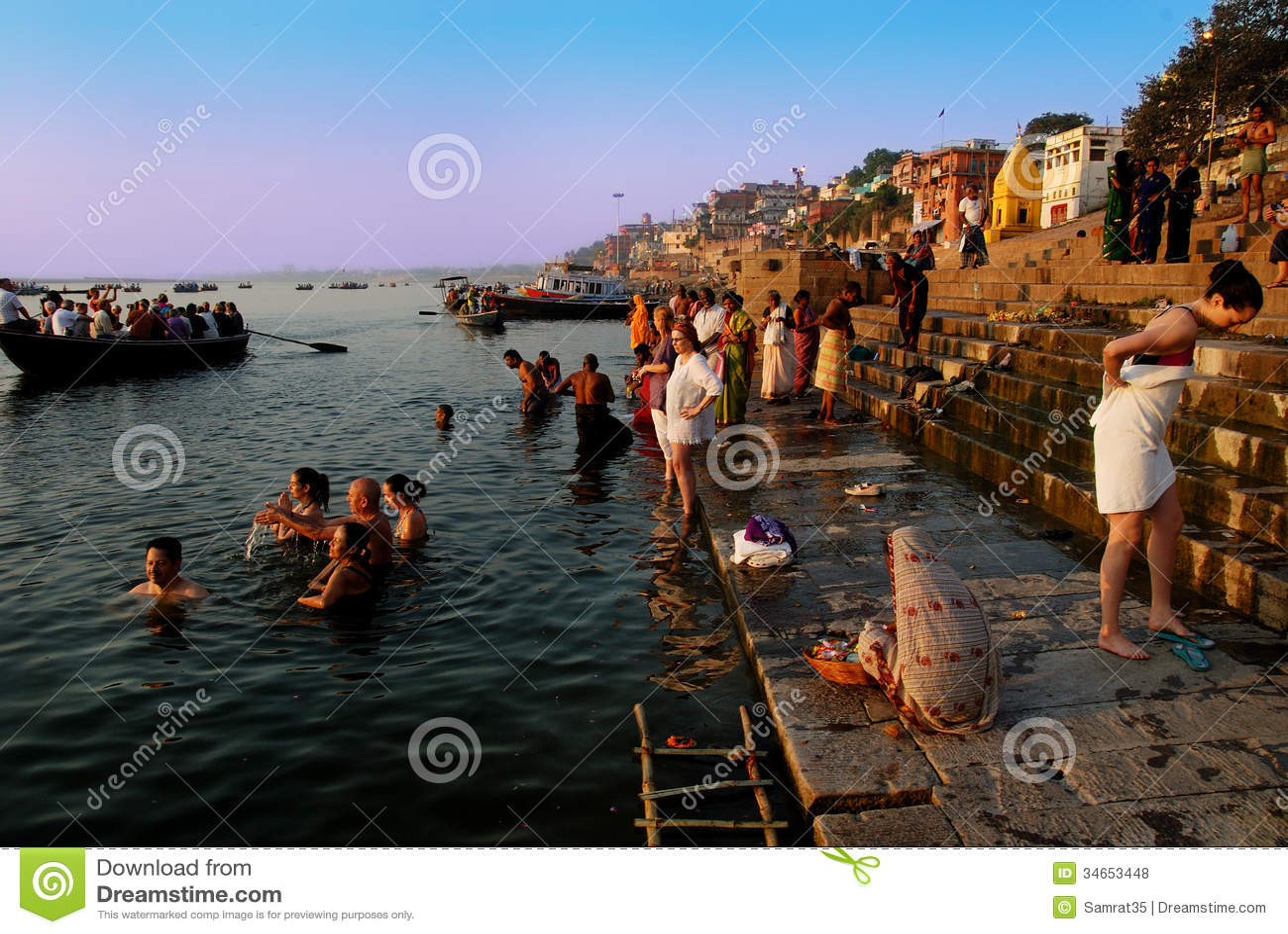 travel india editorial stock photo