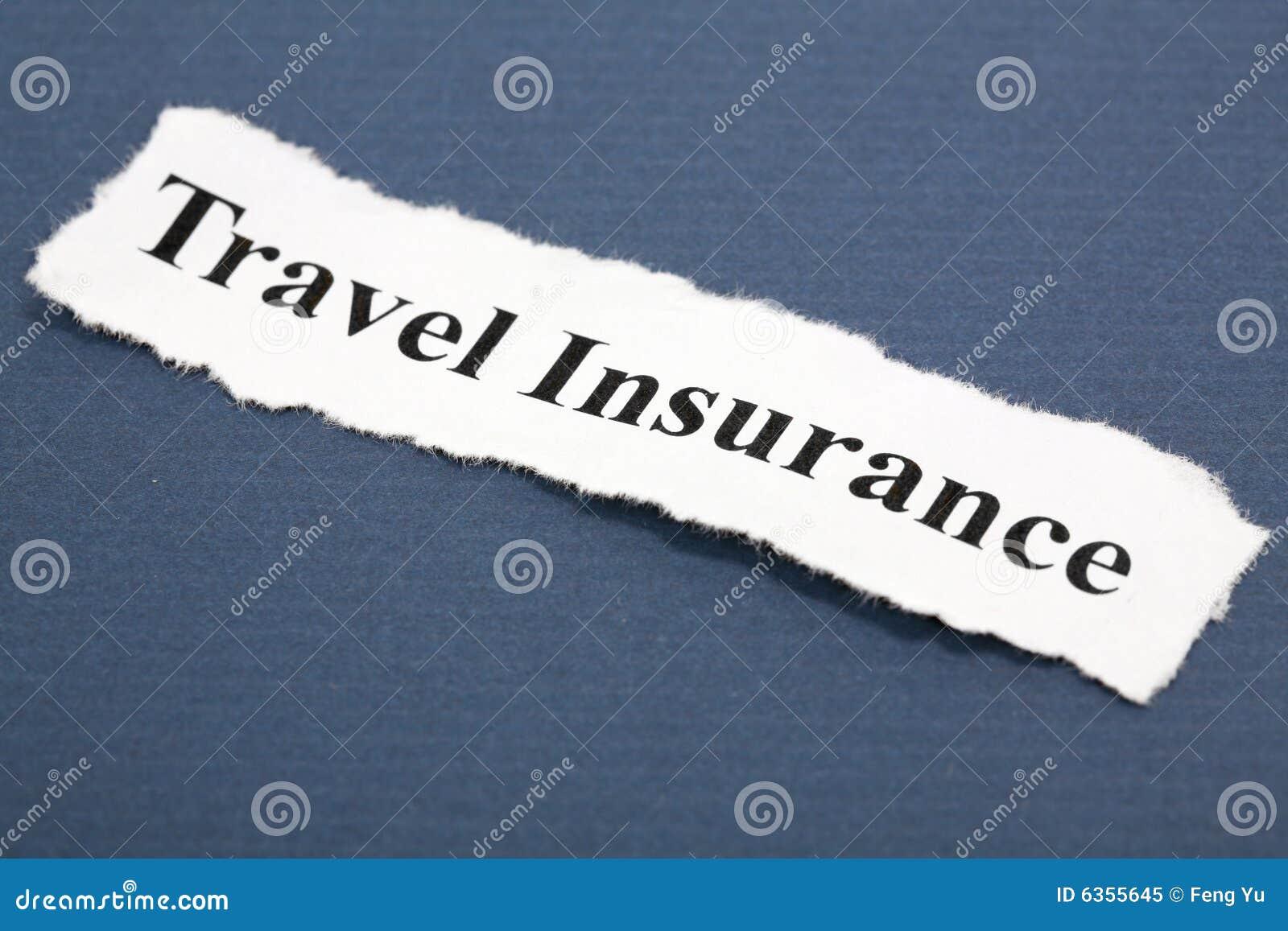 Travel Insurance Royalty Free Stock Photo - Image: 6355645