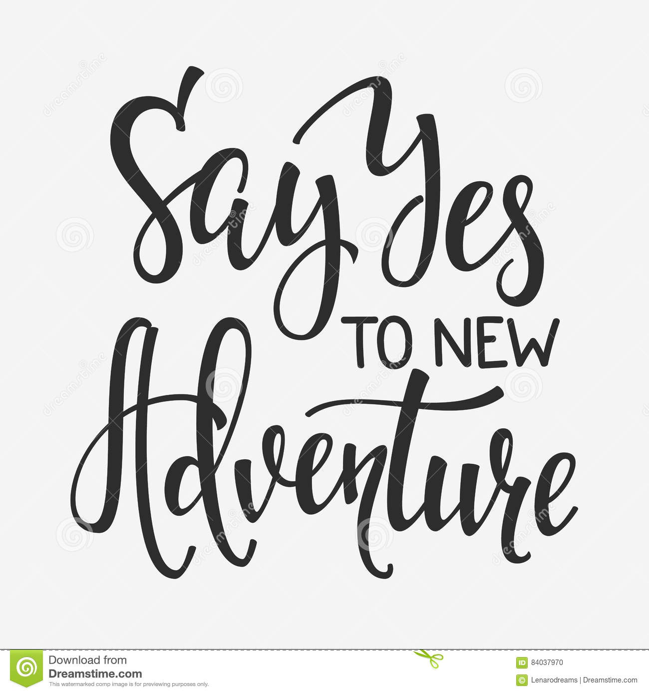 Travel Life Inspiration Quotes Lettering Stock Illustration