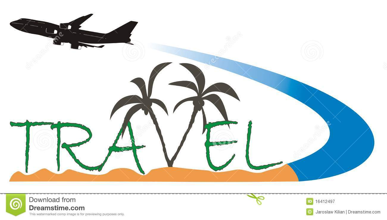 Travel logo 2 stock vector. Image of plane, tourist ...