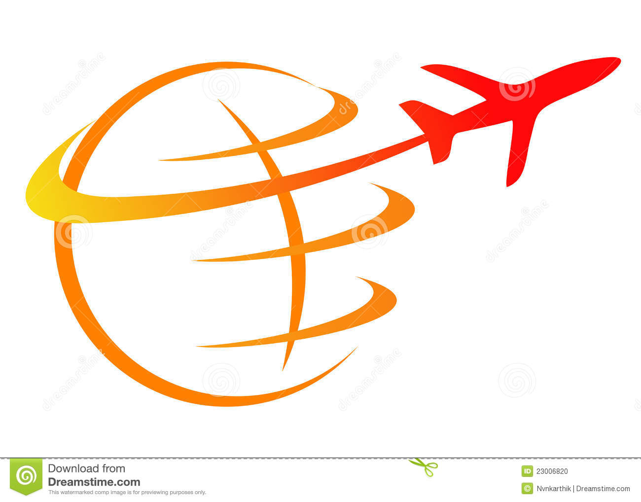 Travel Logo Stock Photo - Image: 23006820
