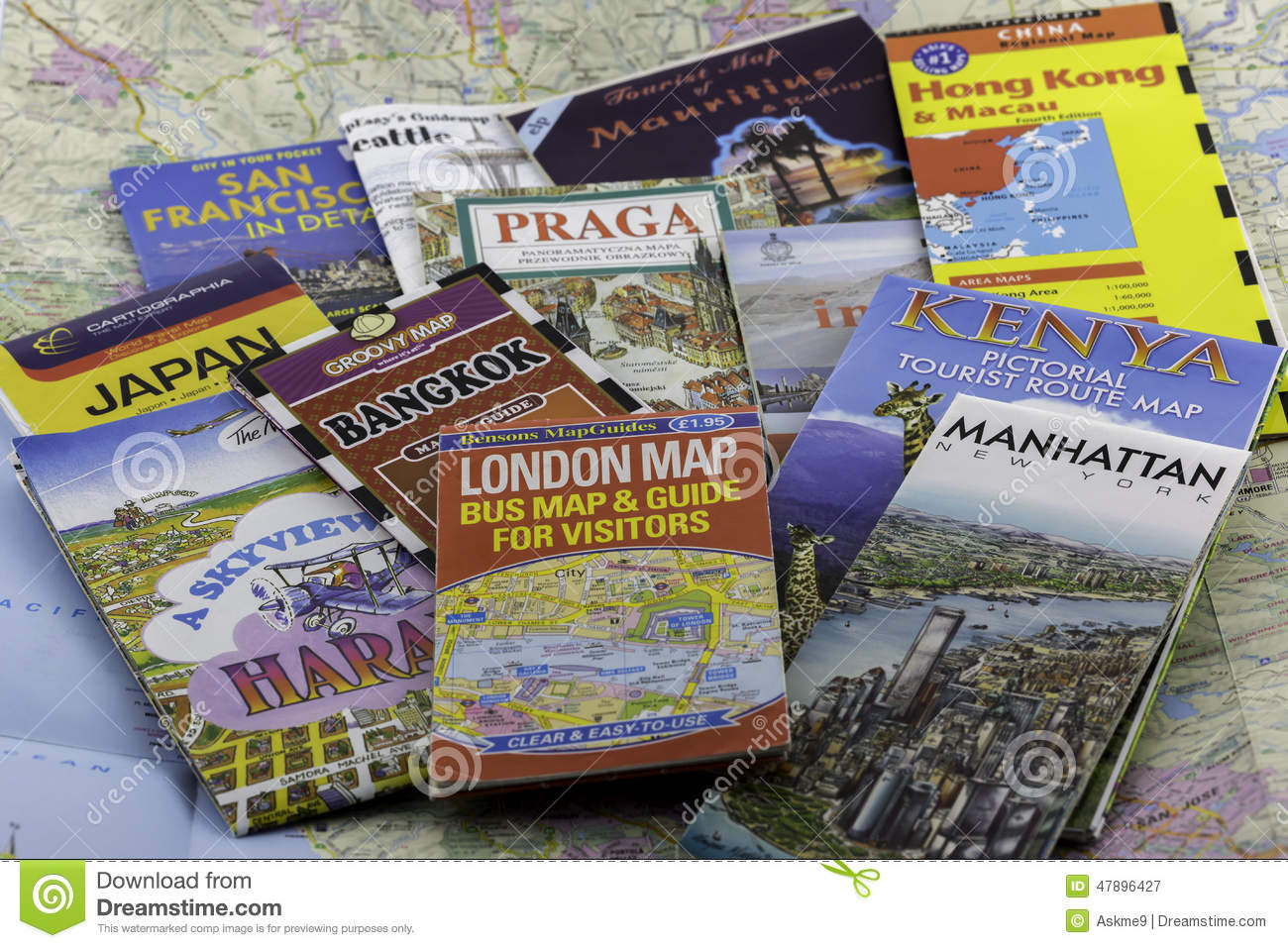 Travel maps