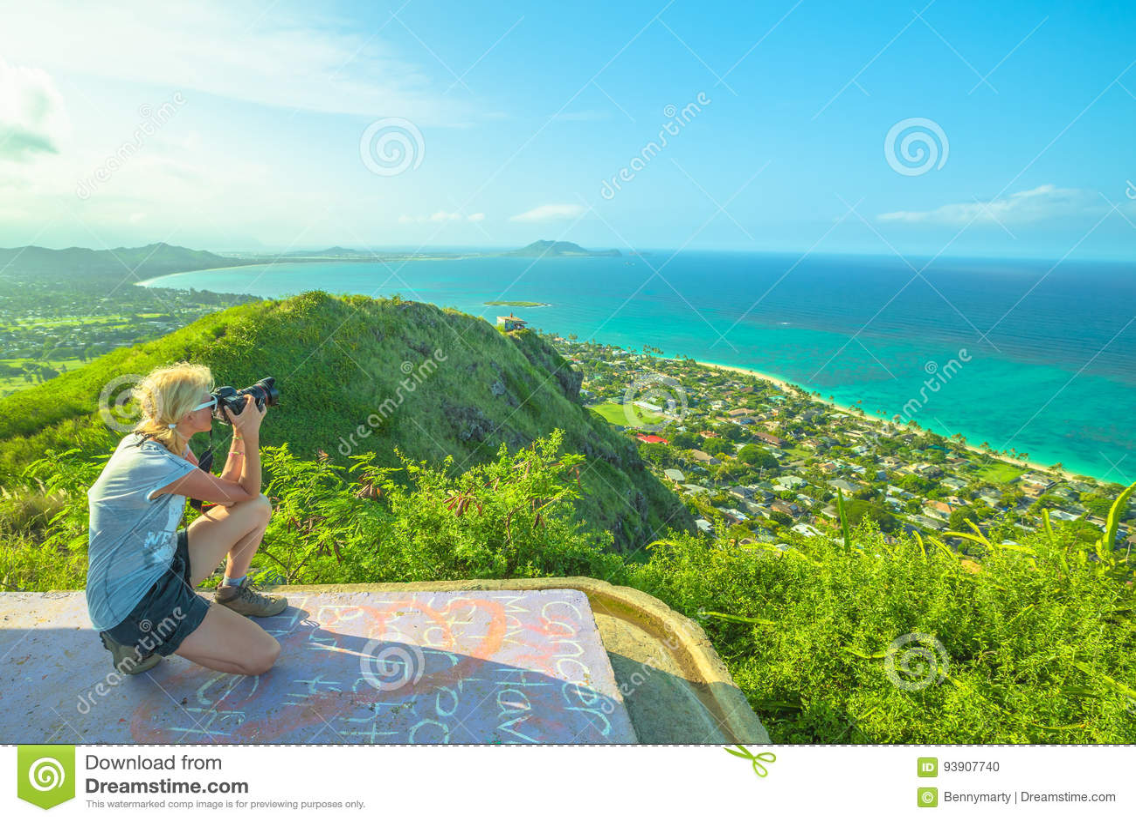 Travel photographer in Hawaii
