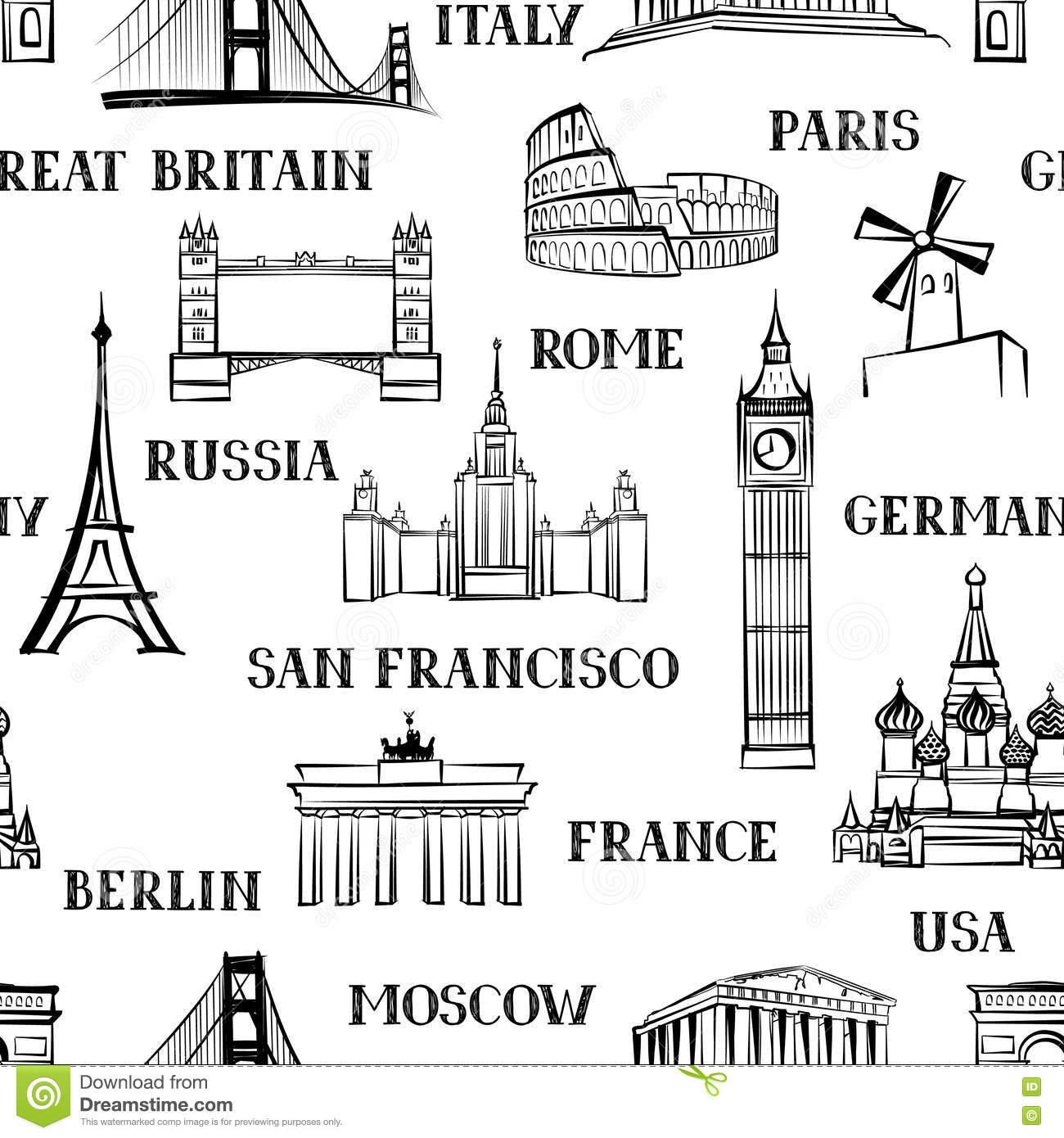 St Basils Cathedral Colouring Page likewise Black And White World Map 2 likewise Usa To Russia Coloring Page in addition 5 also Glacier Coloring Page. on places to visit in europe