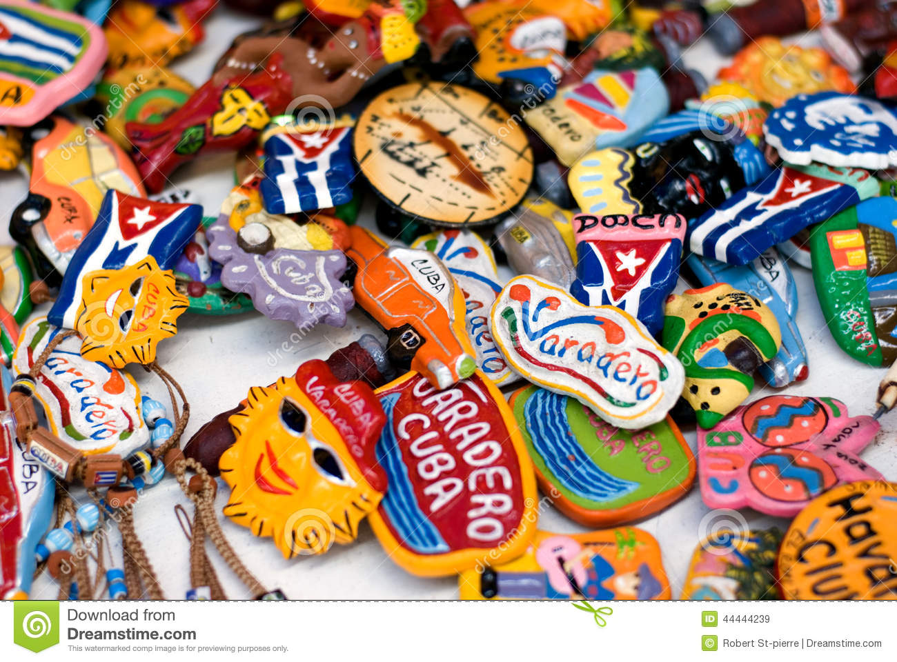 Travel Souvenirs From Cuba Stock Image. Image Of Souvenirs