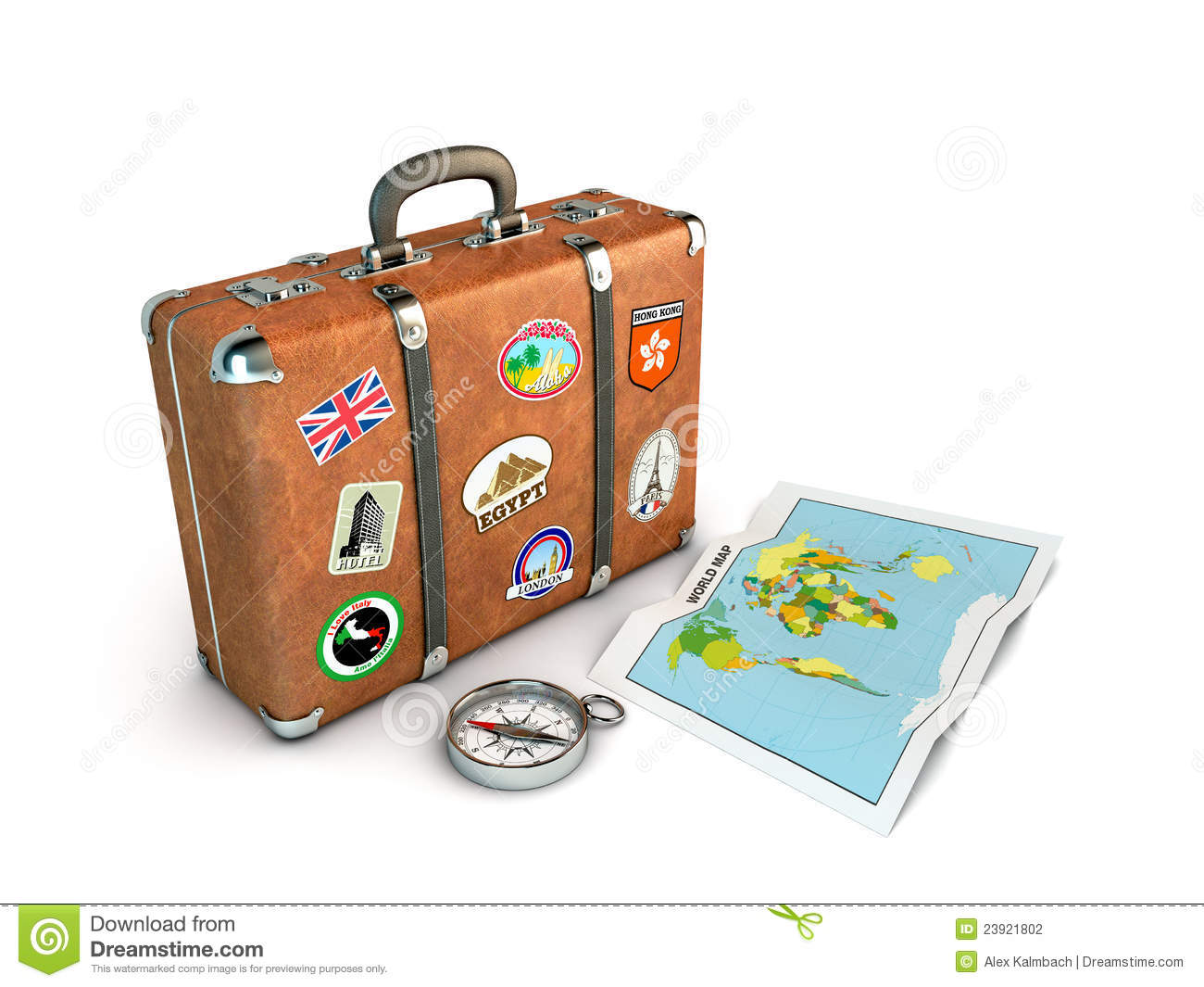 Travel Suitcase Stock Photography - Image: 23921802