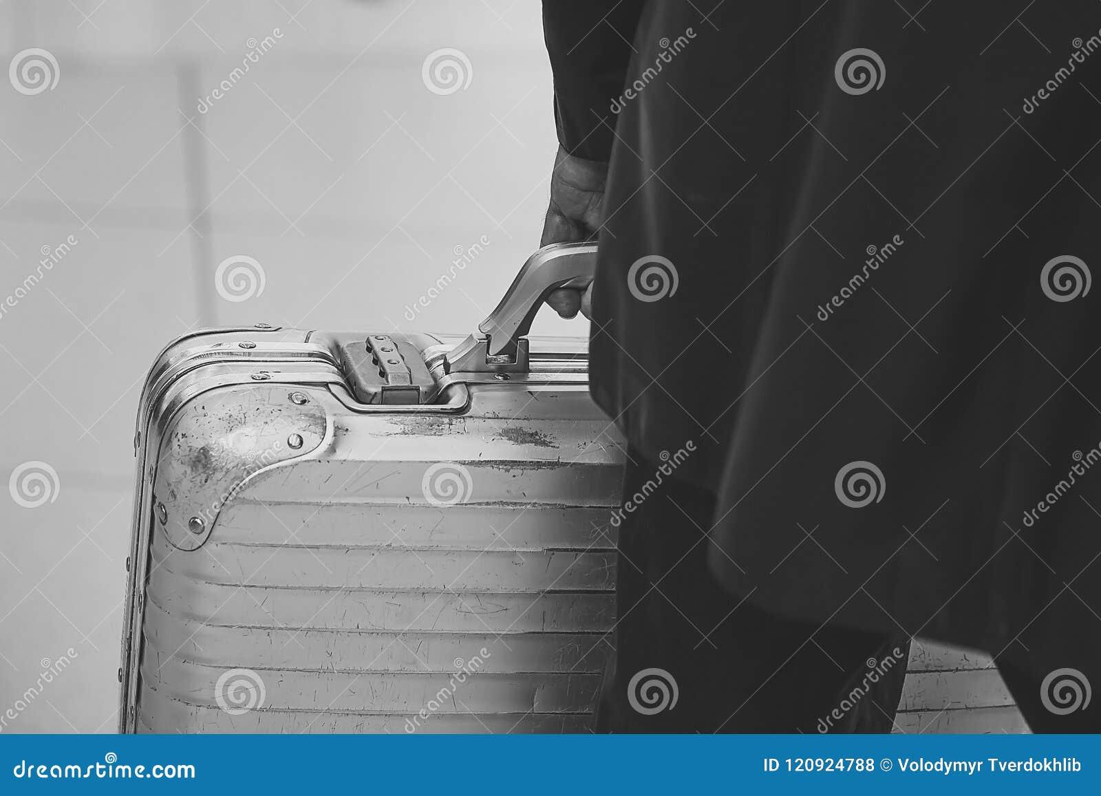 Single man travel