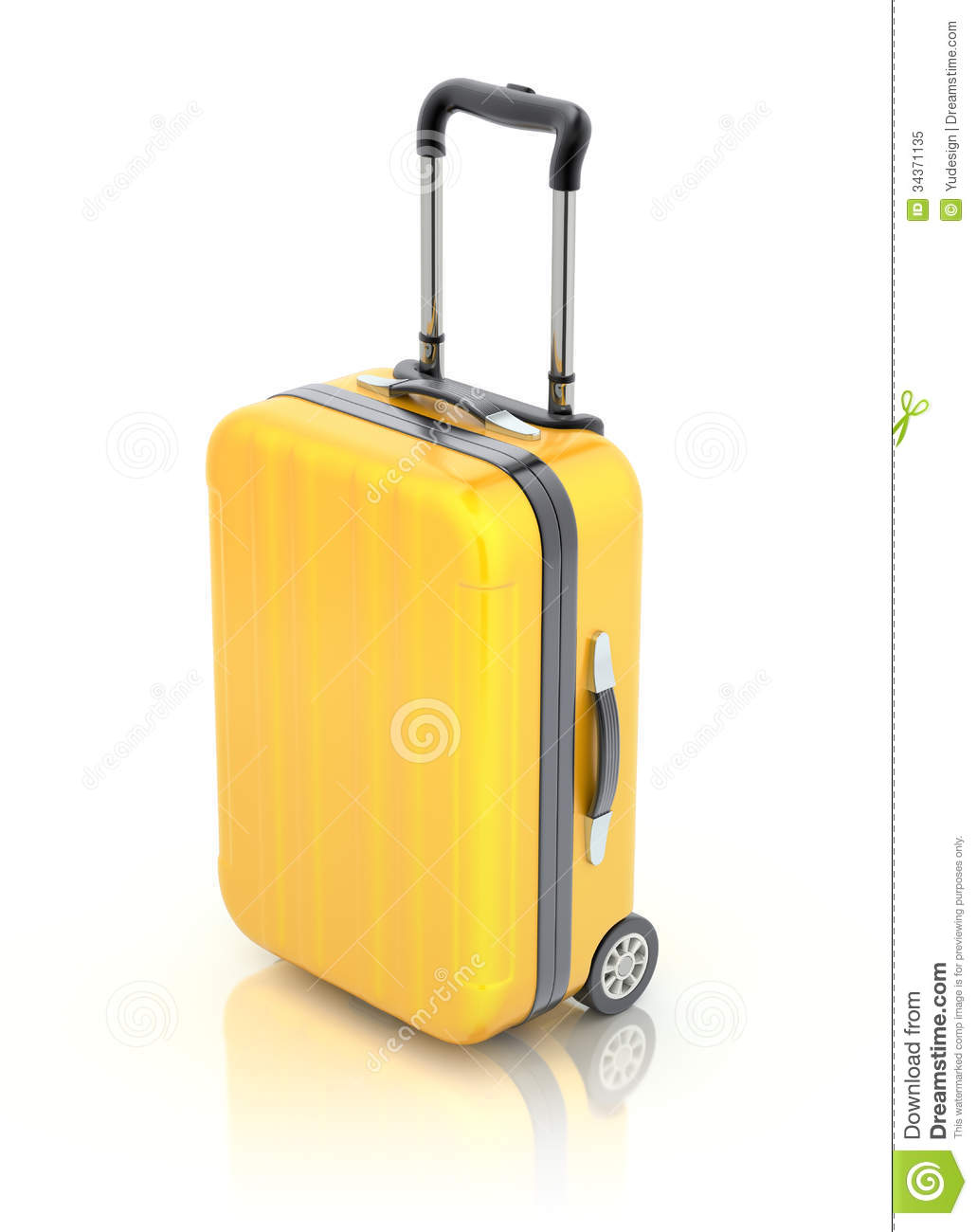 Travel Suitcase Royalty Free Stock Photo - Image: 34371135