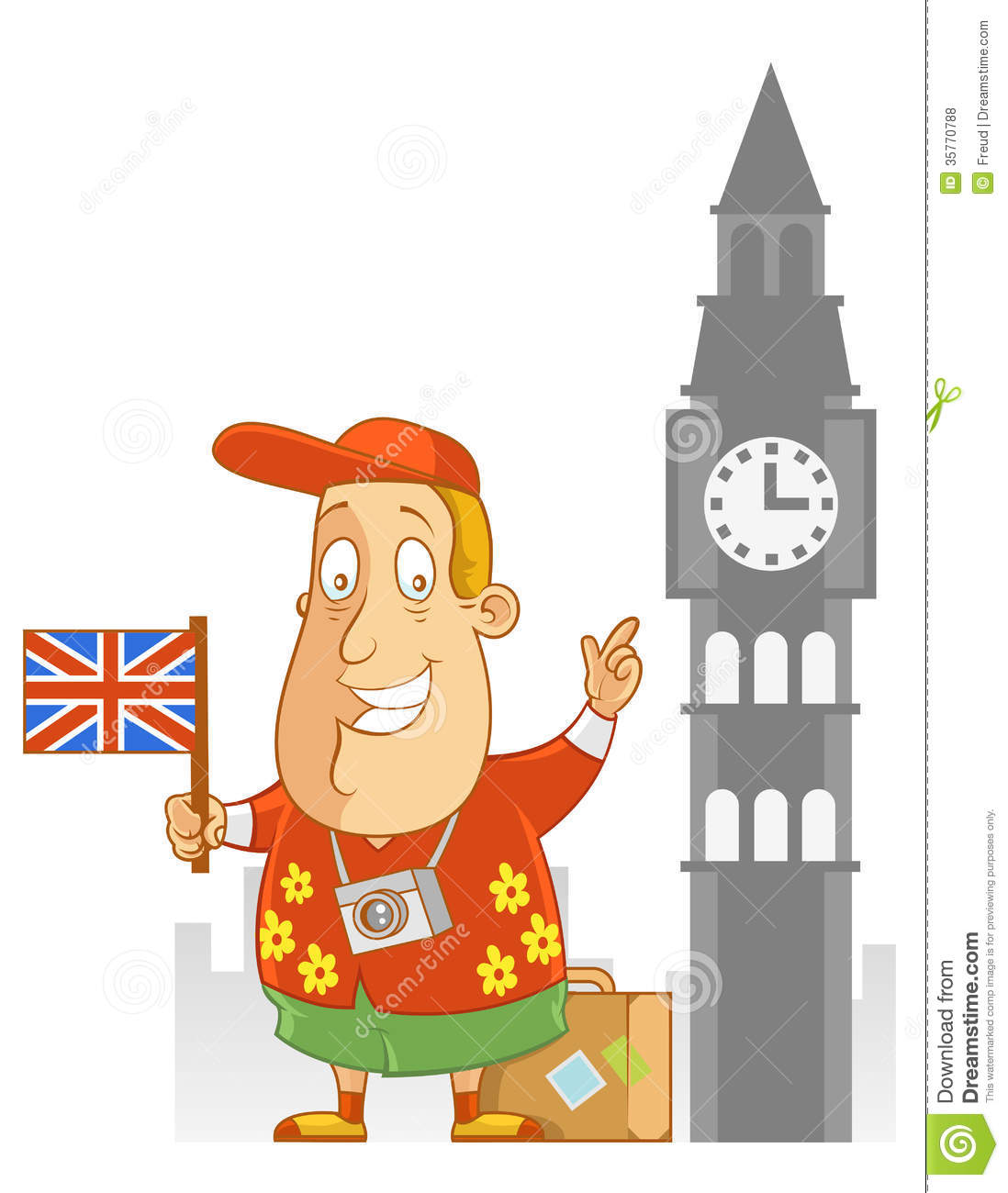 travel to england stock vector illustration of male 35770788
