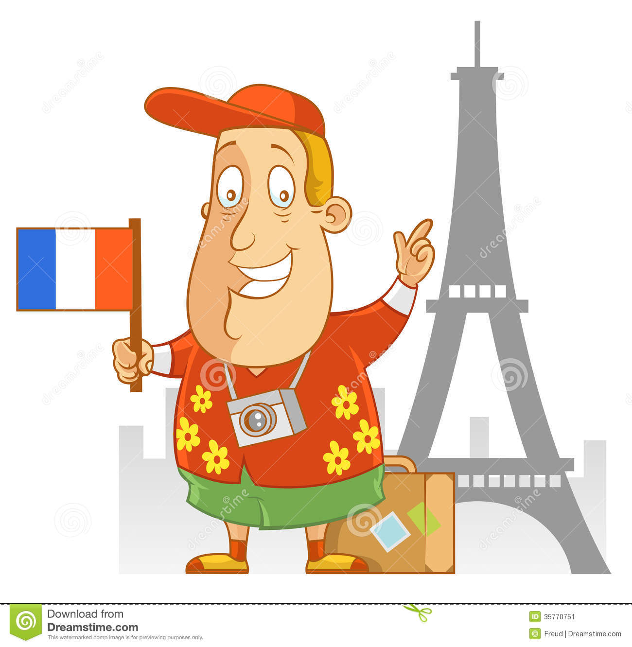 Travel To France Stock Image