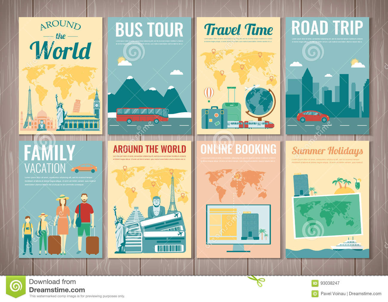 Travel Book Cover ~ Brazil cartoons illustrations vector stock images