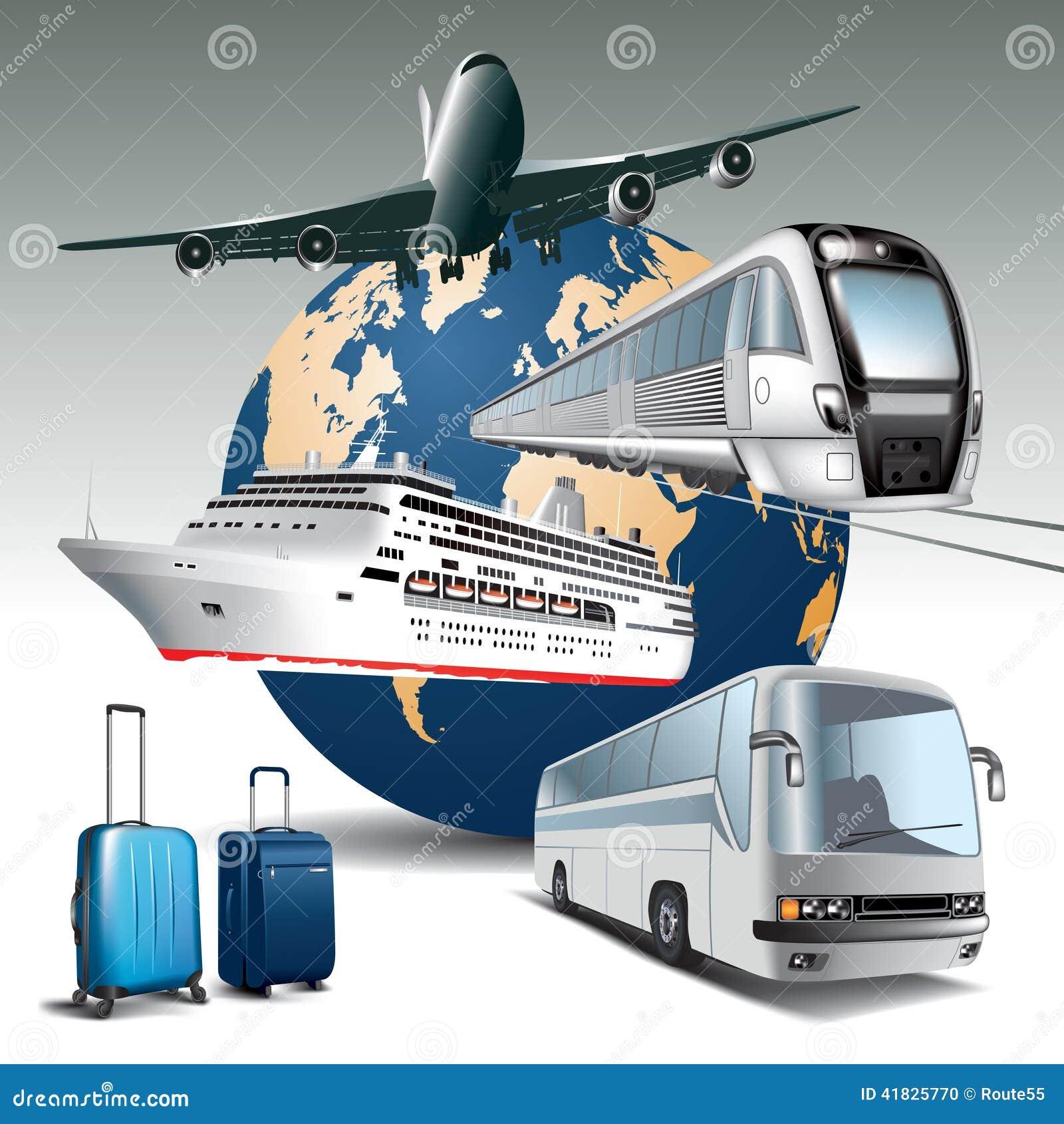travel transportation stock vector illustration of ship 41825770