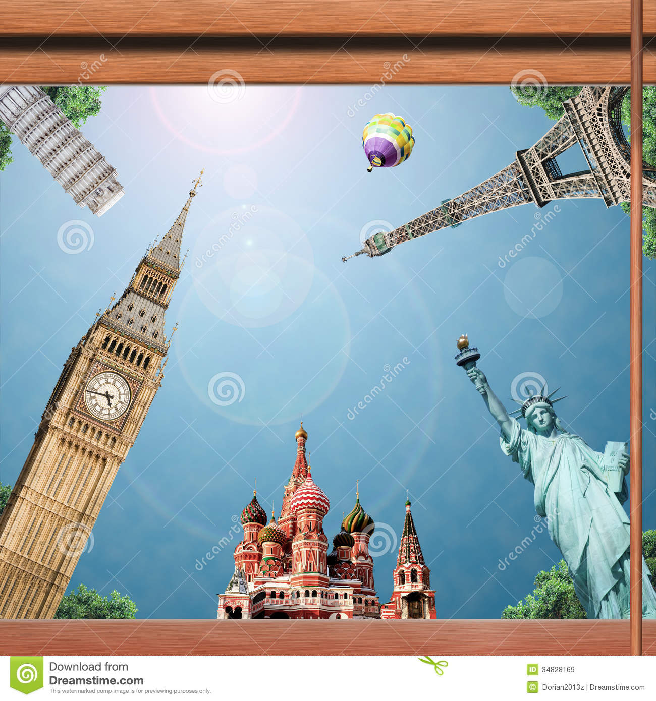 Travel And Trip Stock Image Image Of America, Europe - 34828169-7202