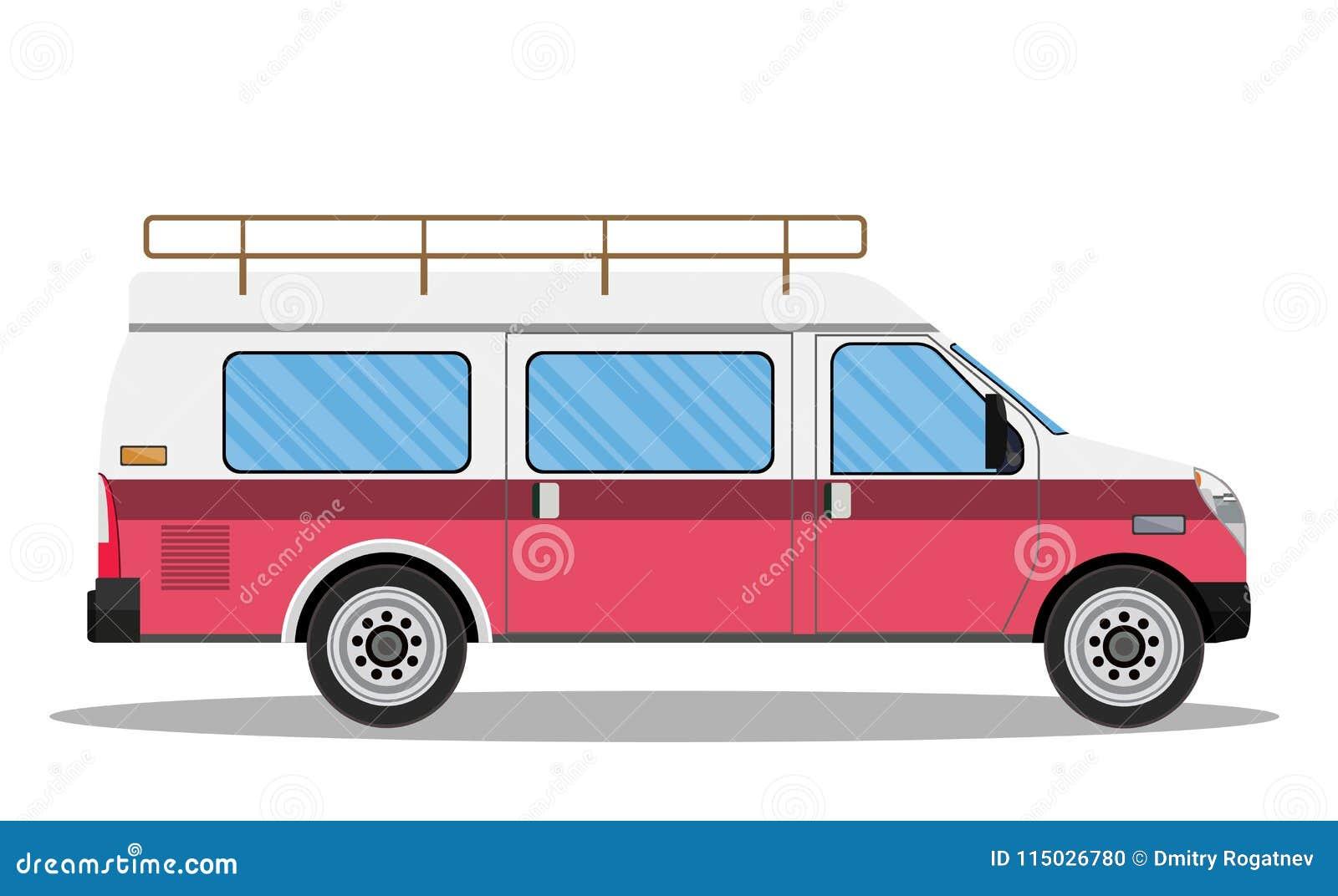 4df4d4de65 Travel van icon. stock vector. Illustration of create - 115026780