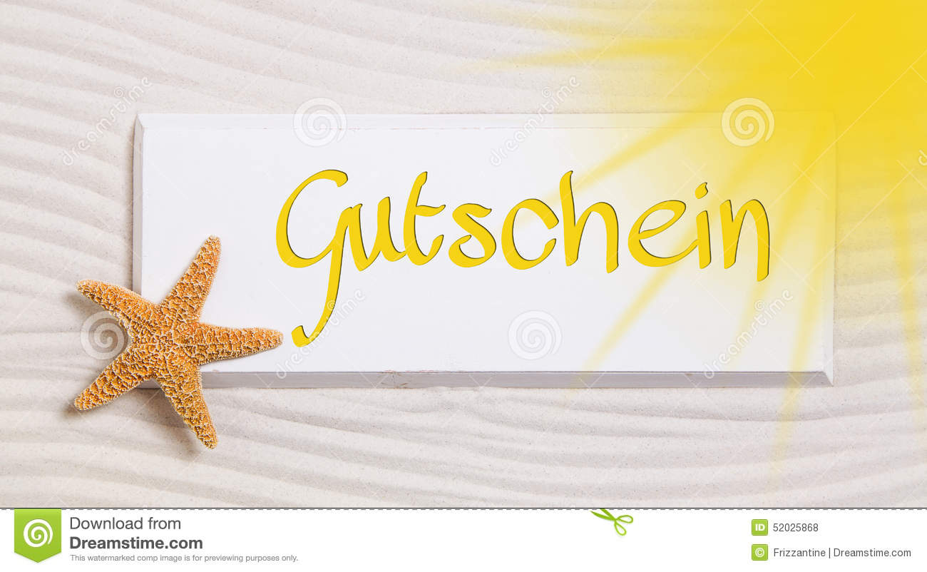 Travel voucher with the german word for a gift certificate stock royalty free stock photo xflitez Images