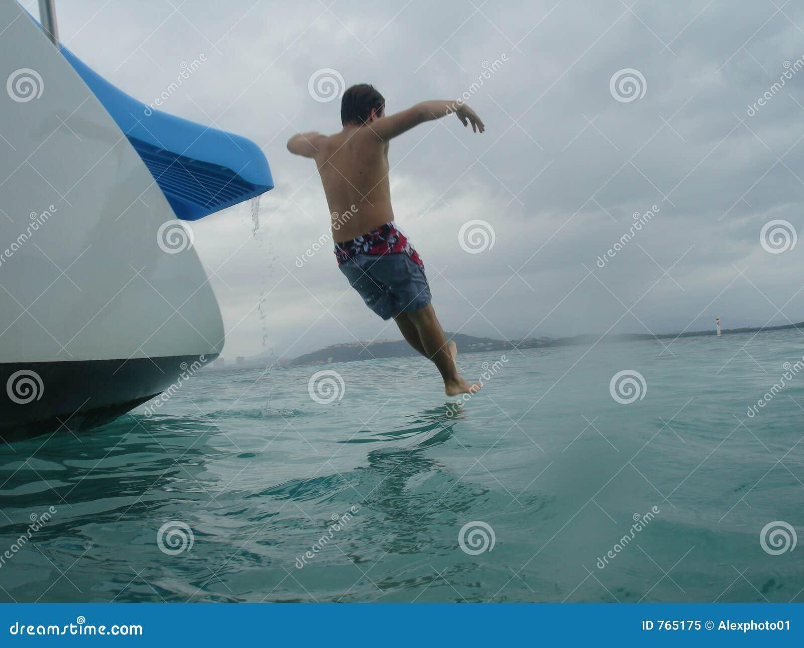 Traveler slides of catamaran Caribbean, Puerto Rico