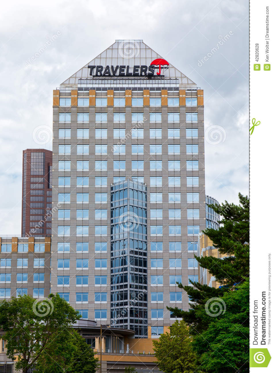 The travelers companies building exterior editorial stock for House construction insurance