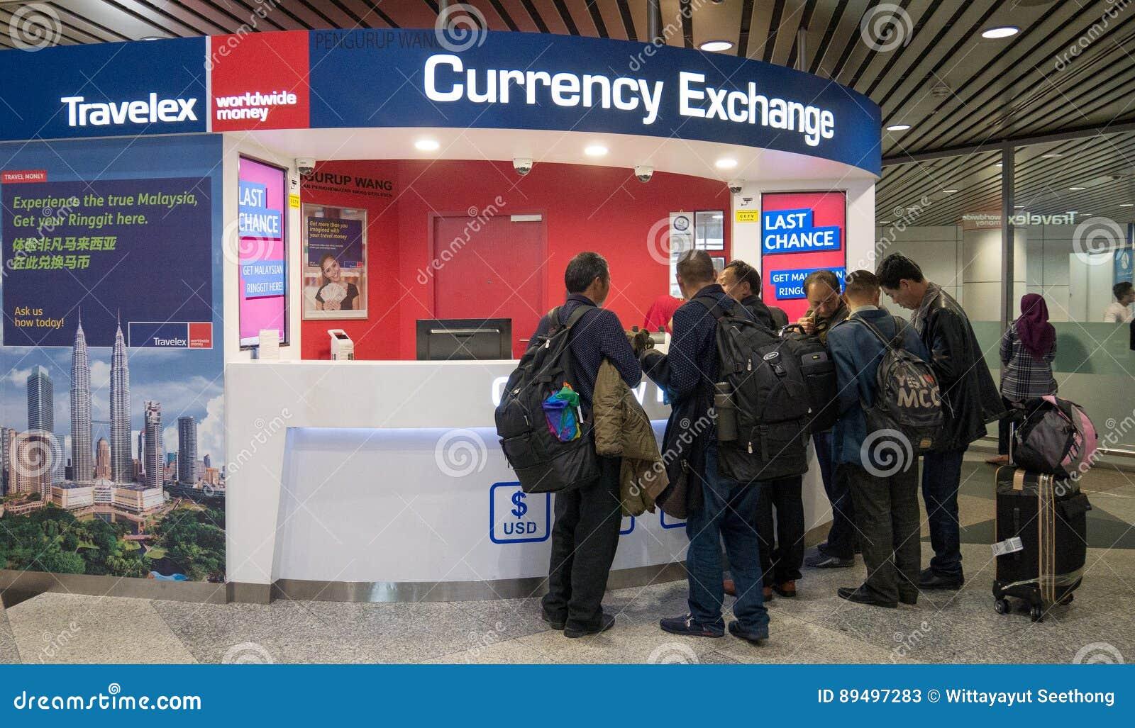 Travelex Currency Exchange Couter  Money Exchange Shop In