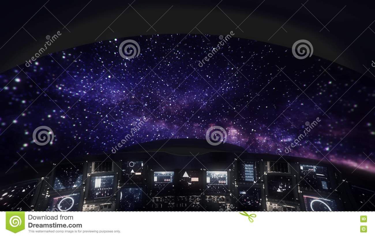 Inside house windows at night - Traveling Inside A Spaceship Cockpit Window Viewing At Outer Space Stock Video Video 76924193