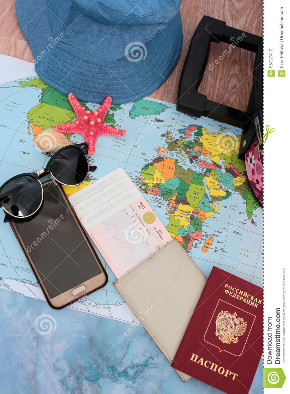 Traveller X27 S Accessories World Map Background Top