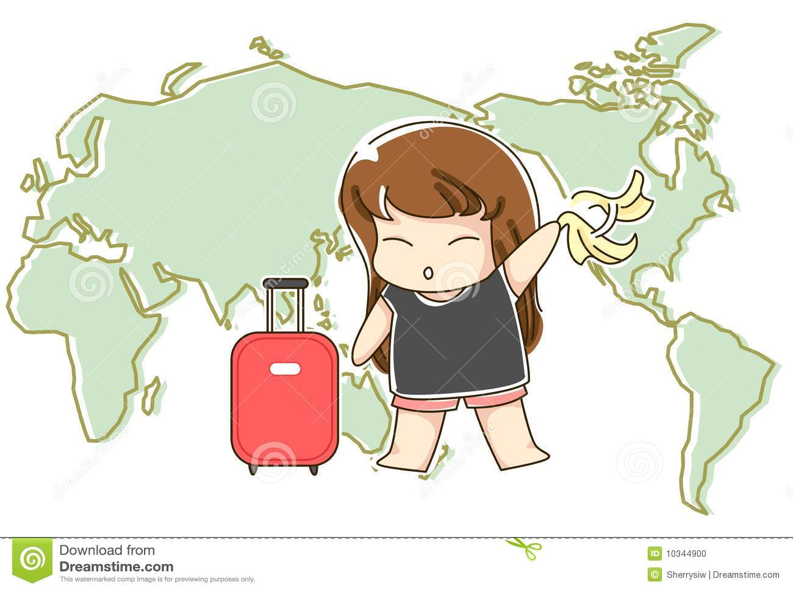 Girls Traveling Around the World