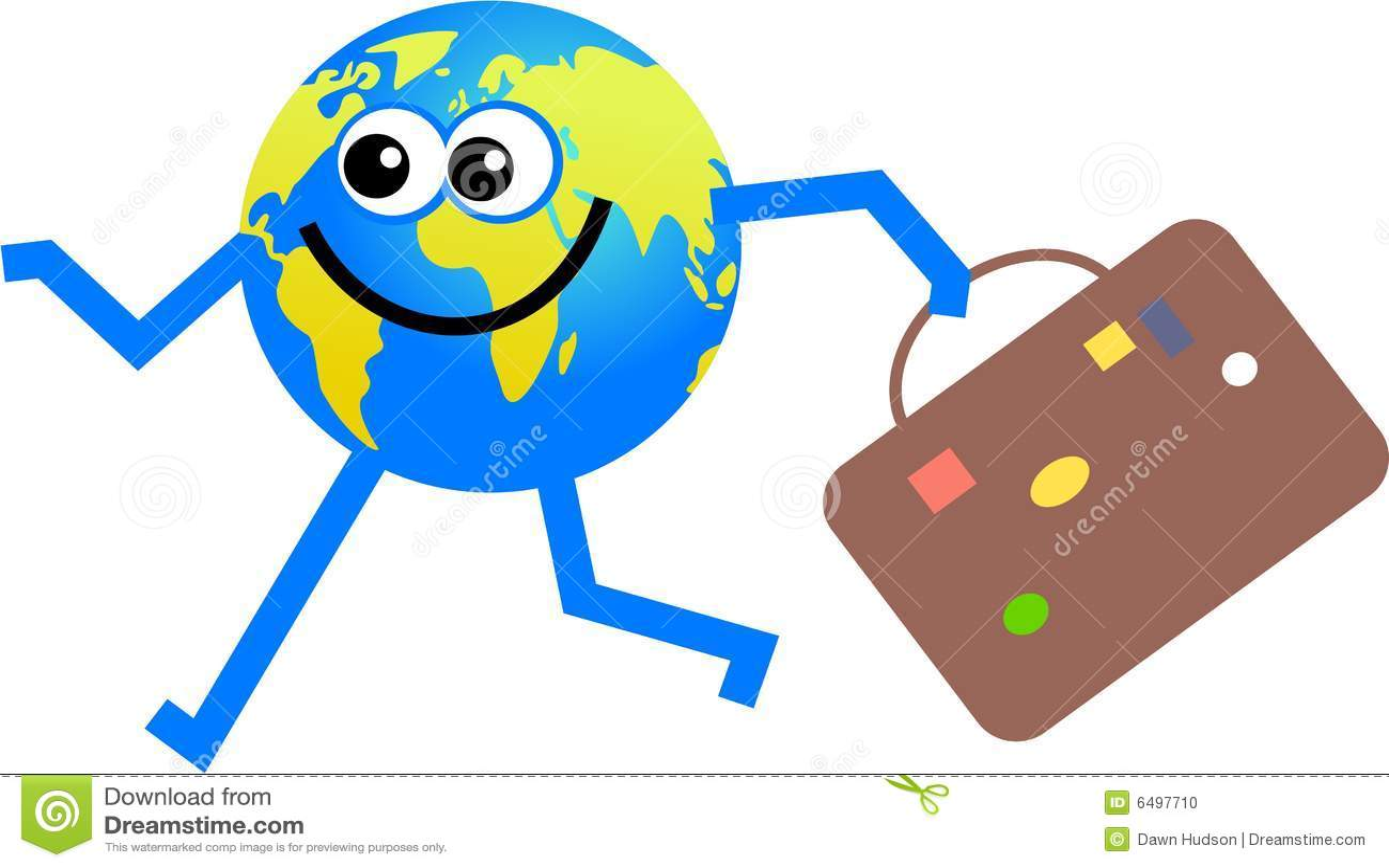 Travelling Globe Stock Photo Image 6497710