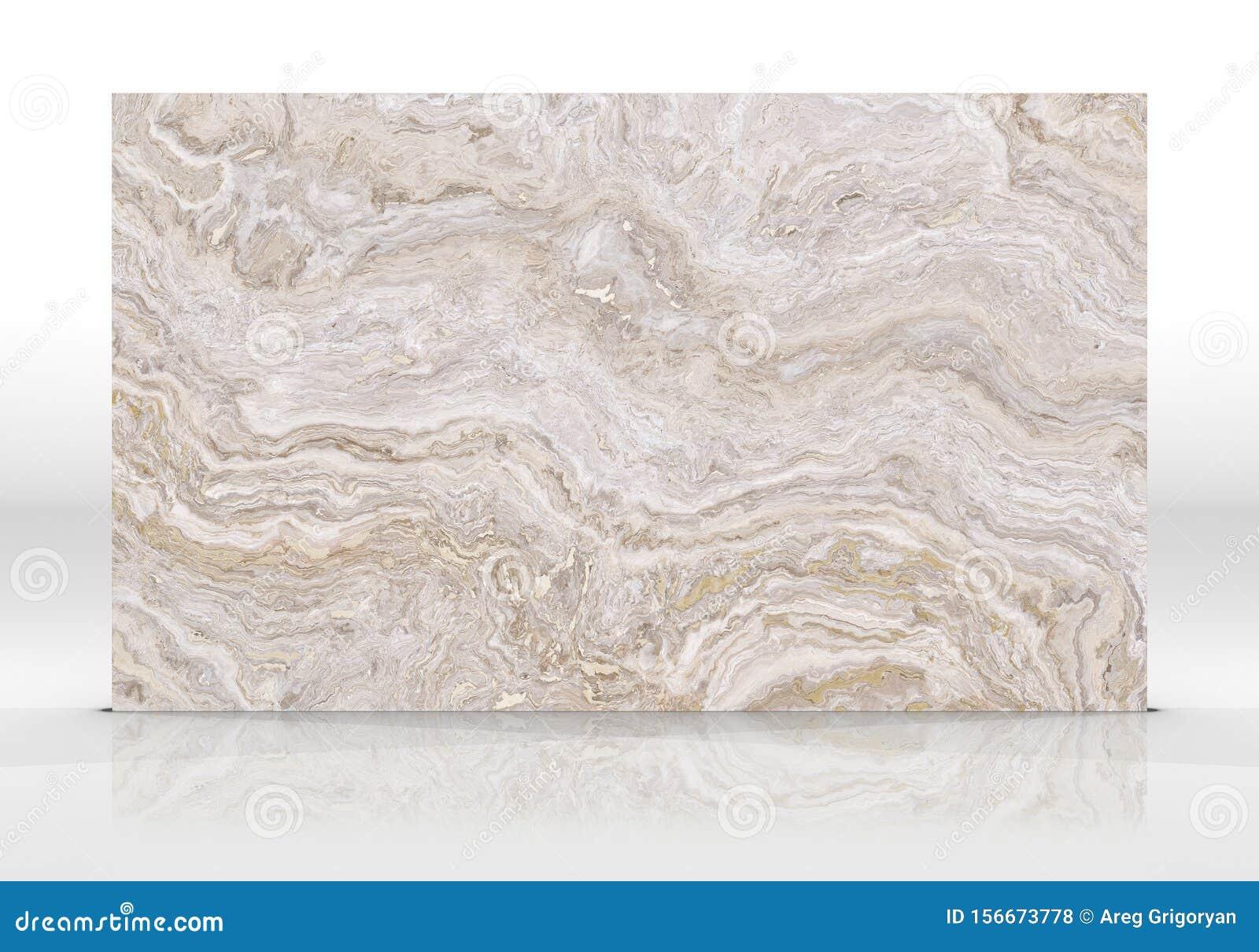 Travertine Marble Tile Texture Stock Photo Image Of Grey Beige 156673778