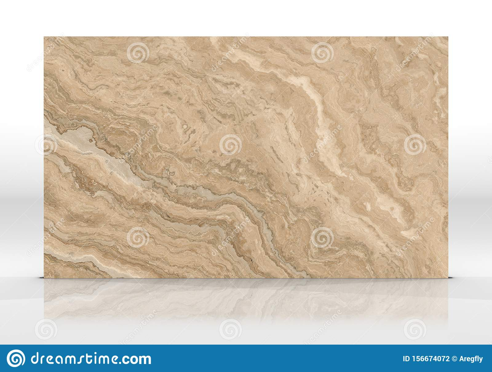 Travertine Marble Tile Texture Stock Illustration Illustration Of Dark Curly 156674072