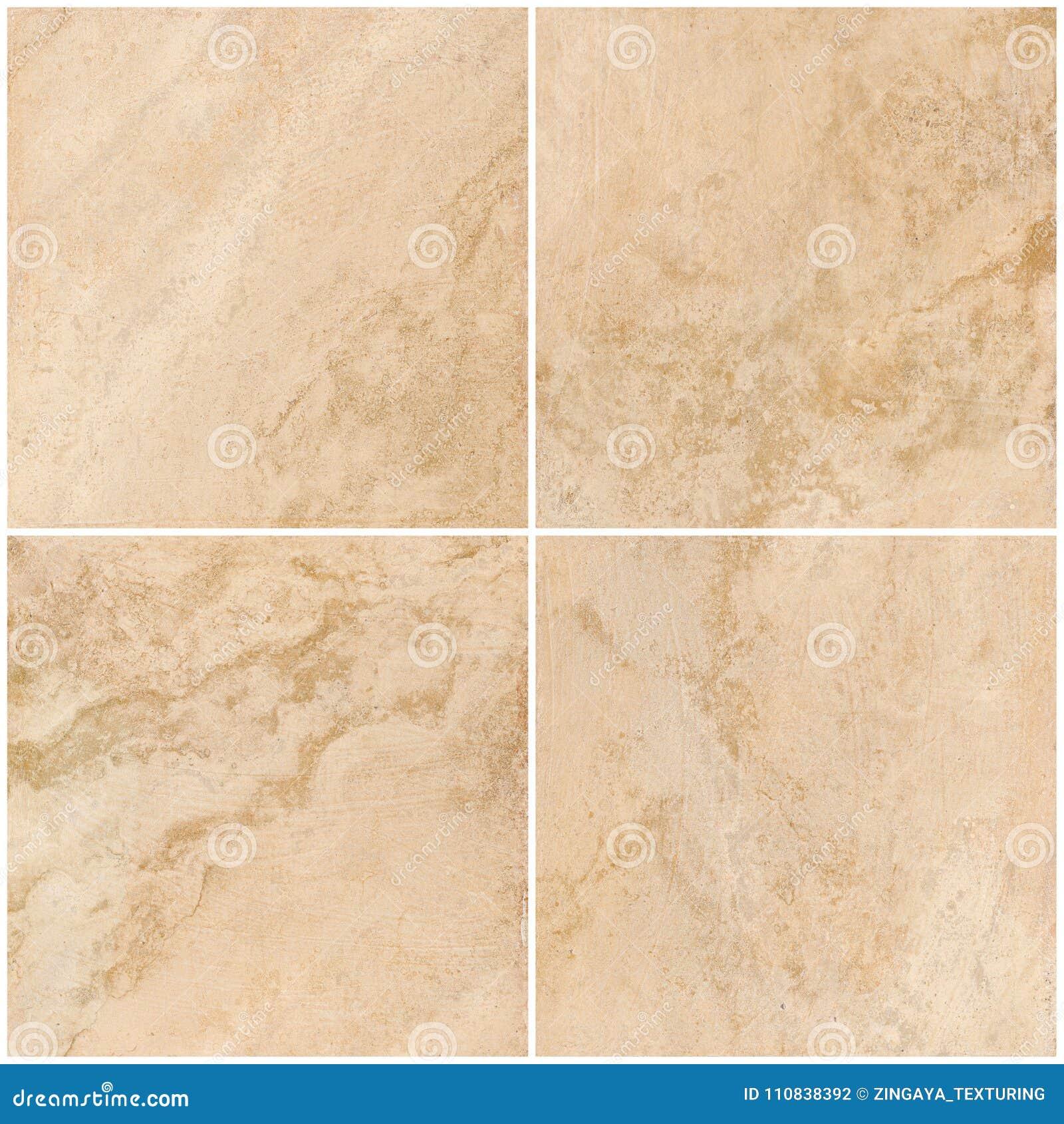 Travertino, textura de mármore, projeto de pedra da telha do fundo