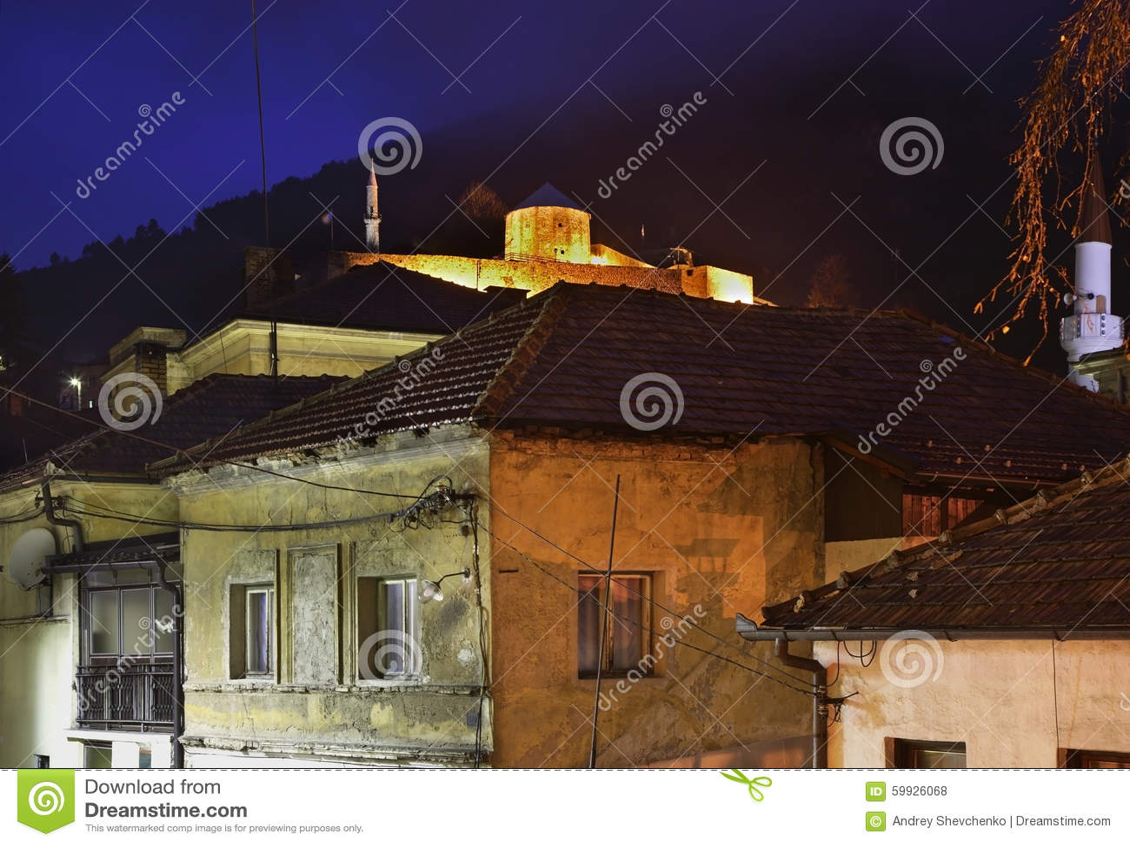 Travnik stad stämma överens områdesområden som Bosnien gemet färgade greyed herzegovina inkluderar viktigt, planera ut territorie