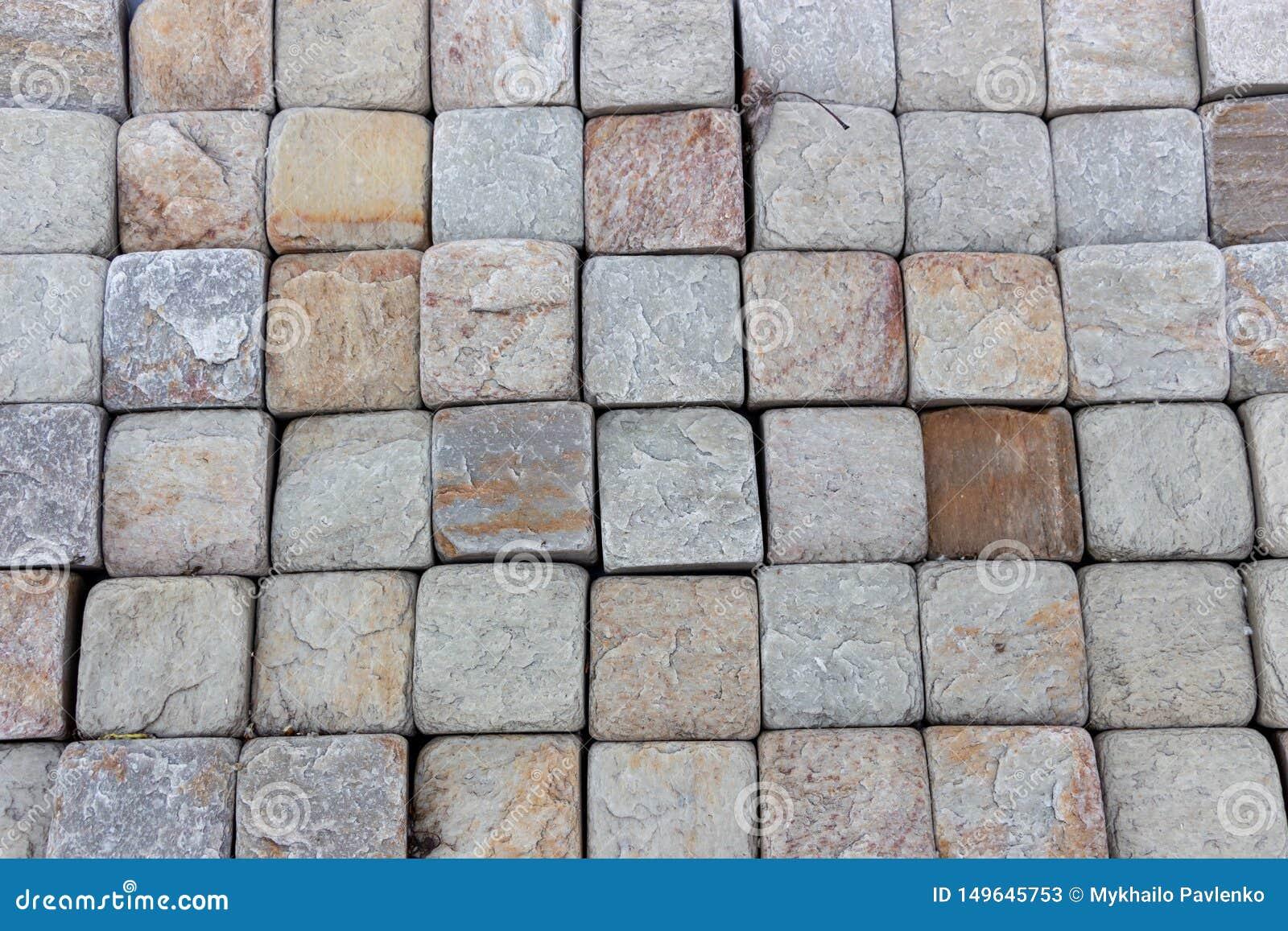 Trawertynu dachówkowy ceramiczny, mozaika kwadrata projekta bezszwowa tekstura