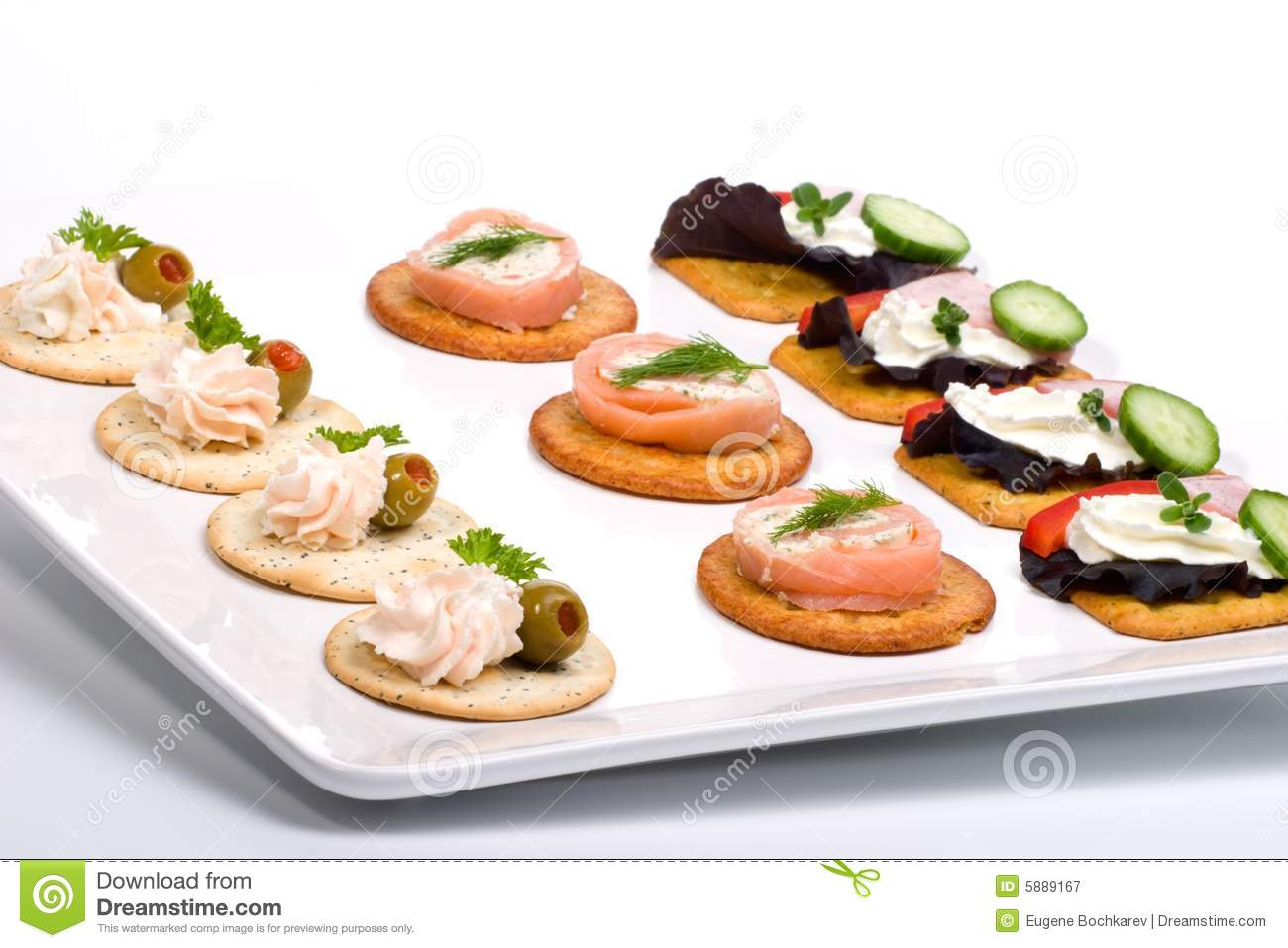 tray full of fresh canapes royalty free stock photography image 5889167. Black Bedroom Furniture Sets. Home Design Ideas
