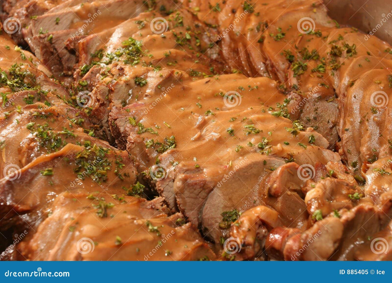 Tray mięsa