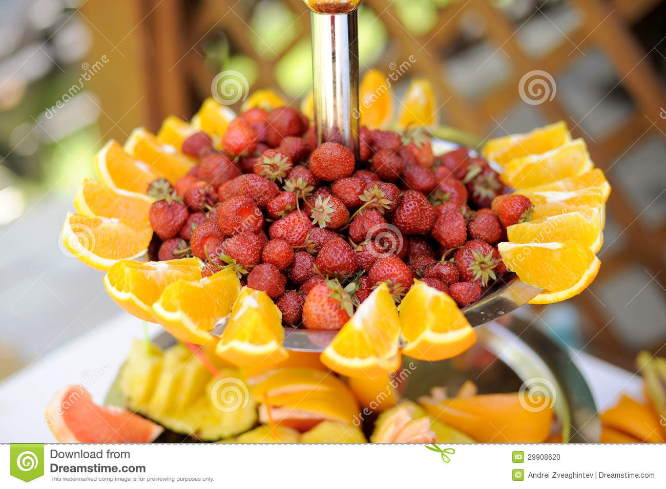Fruit Tray stock photo Image of buffet center industry  : tray strawberry orange slices table 29908620 from www.dreamstime.com size 1300 x 955 jpeg 175kB