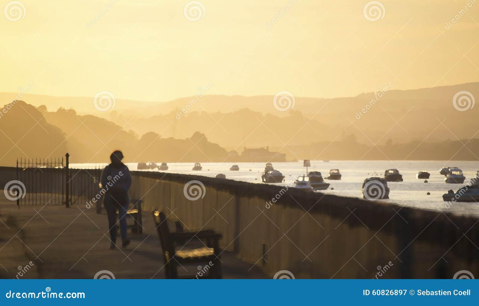 Trayectoria de la puesta del sol