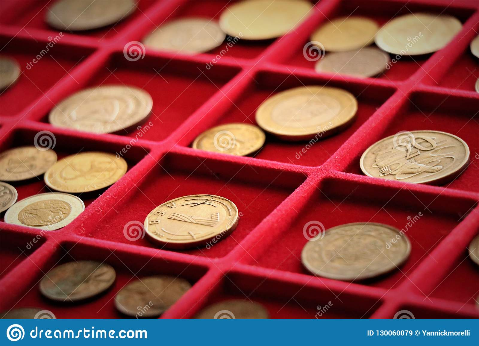 Numismatic job. Coins collection, investment.