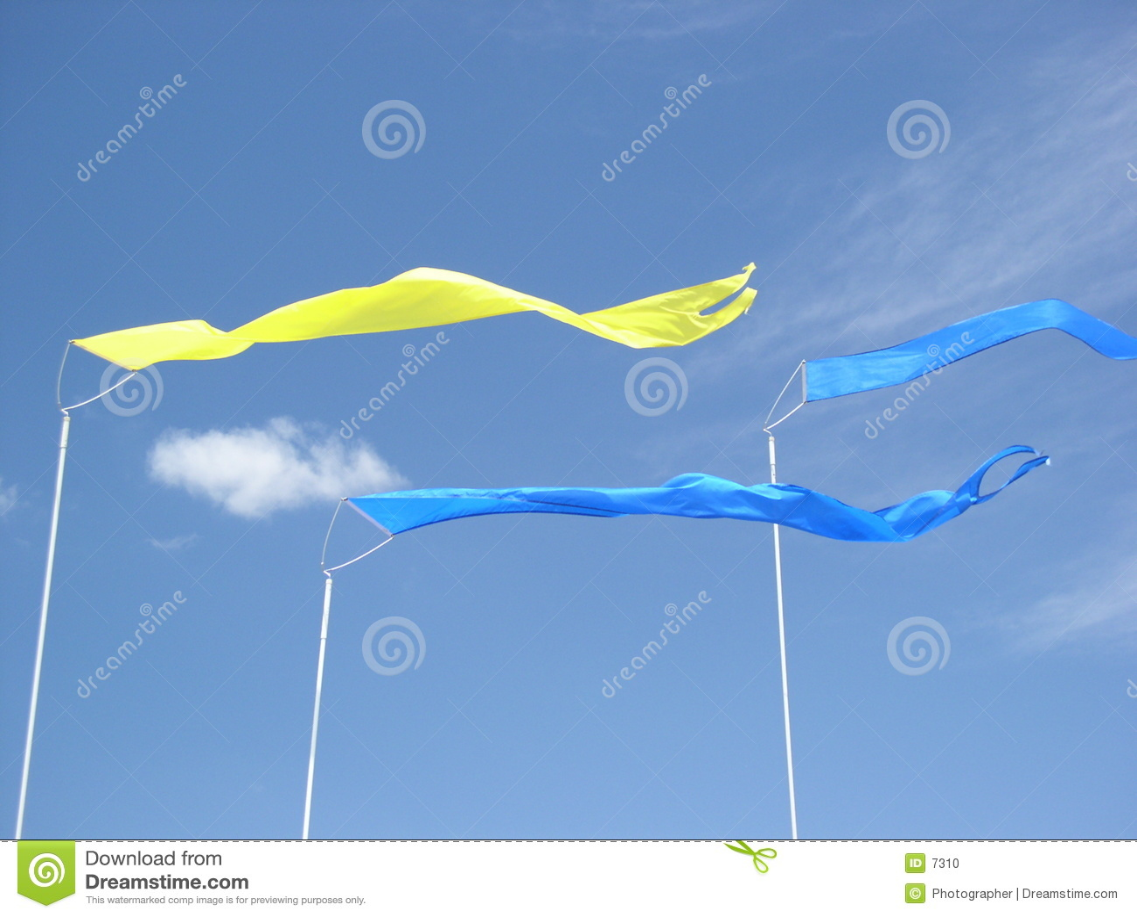 Tre bandiere