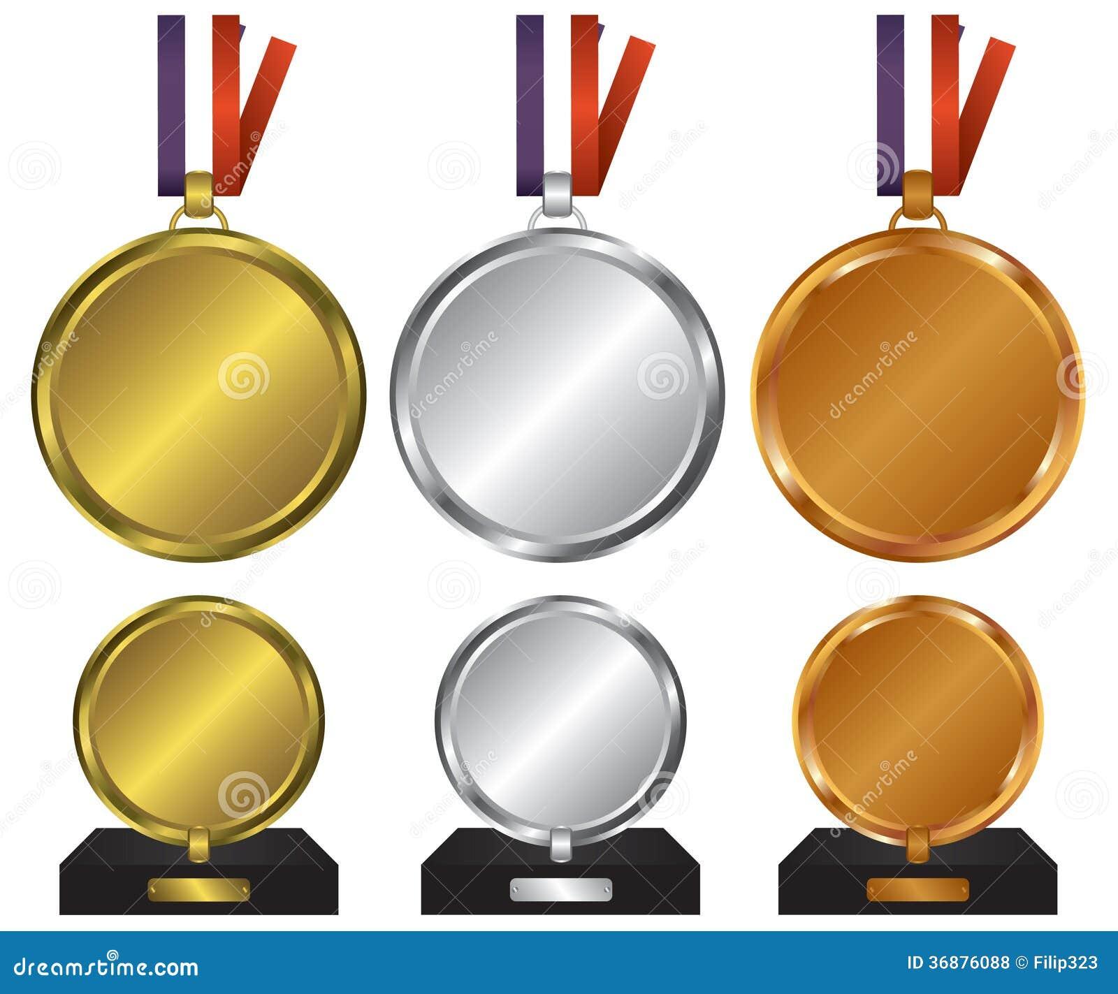 Tre medaljer för vinnarna