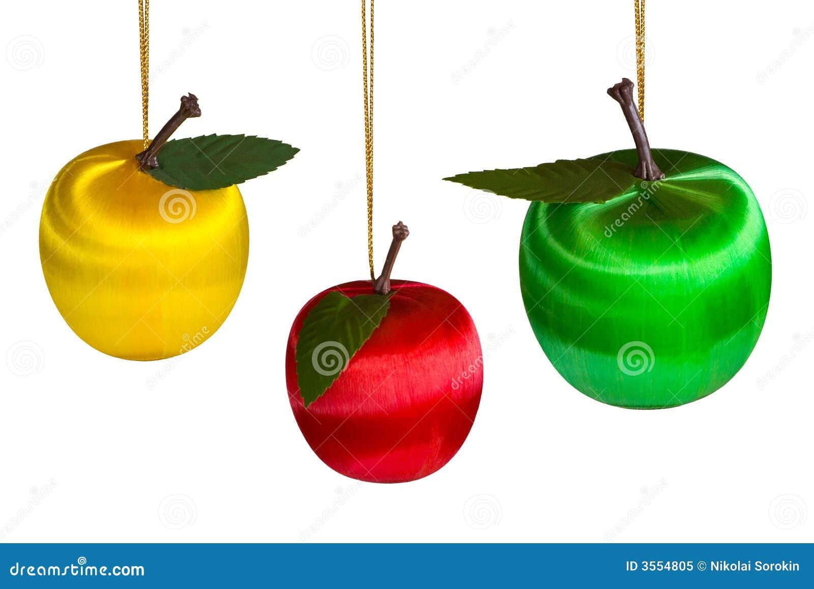 Tre mele di natale