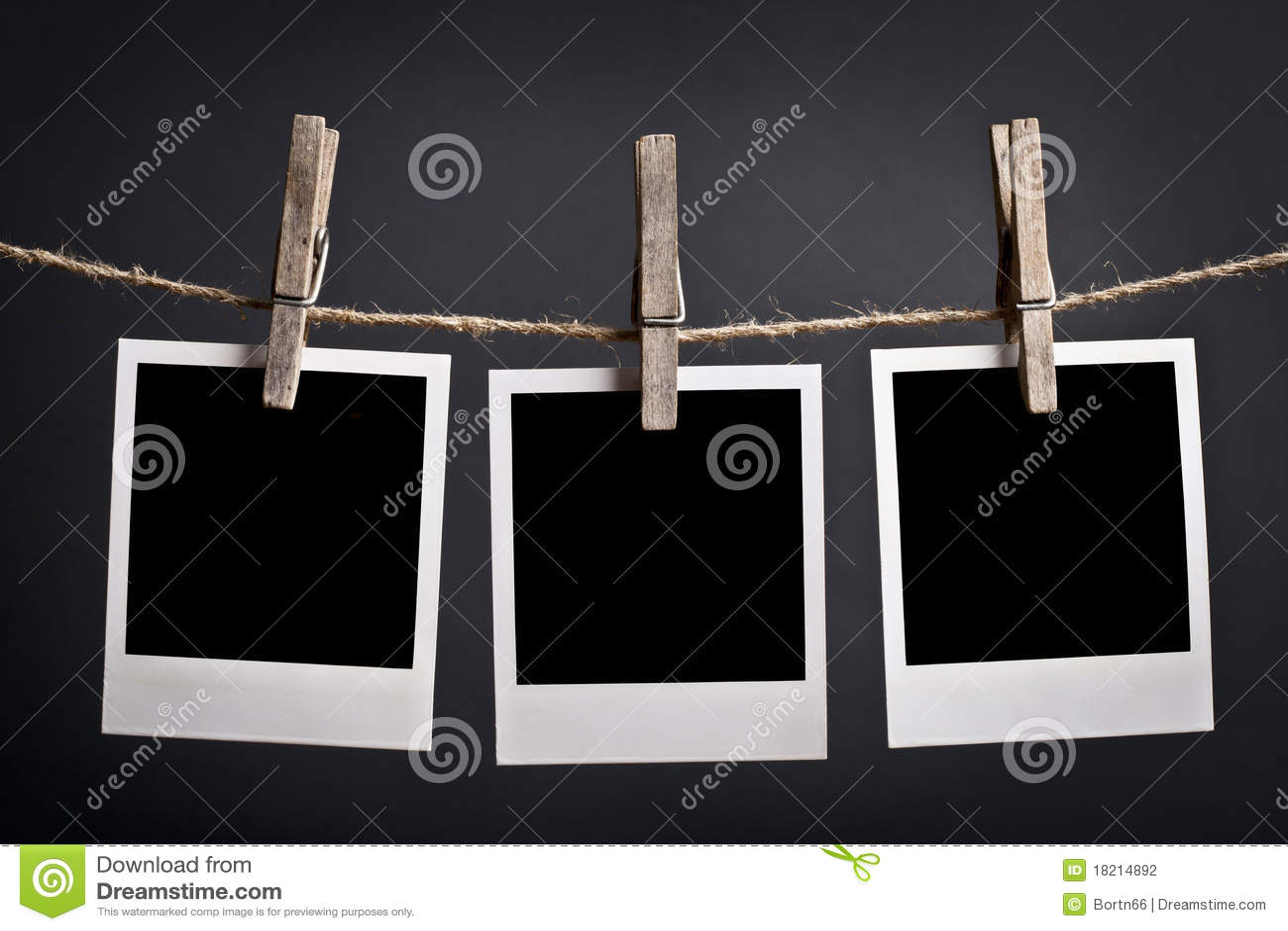 Tre Polaroids