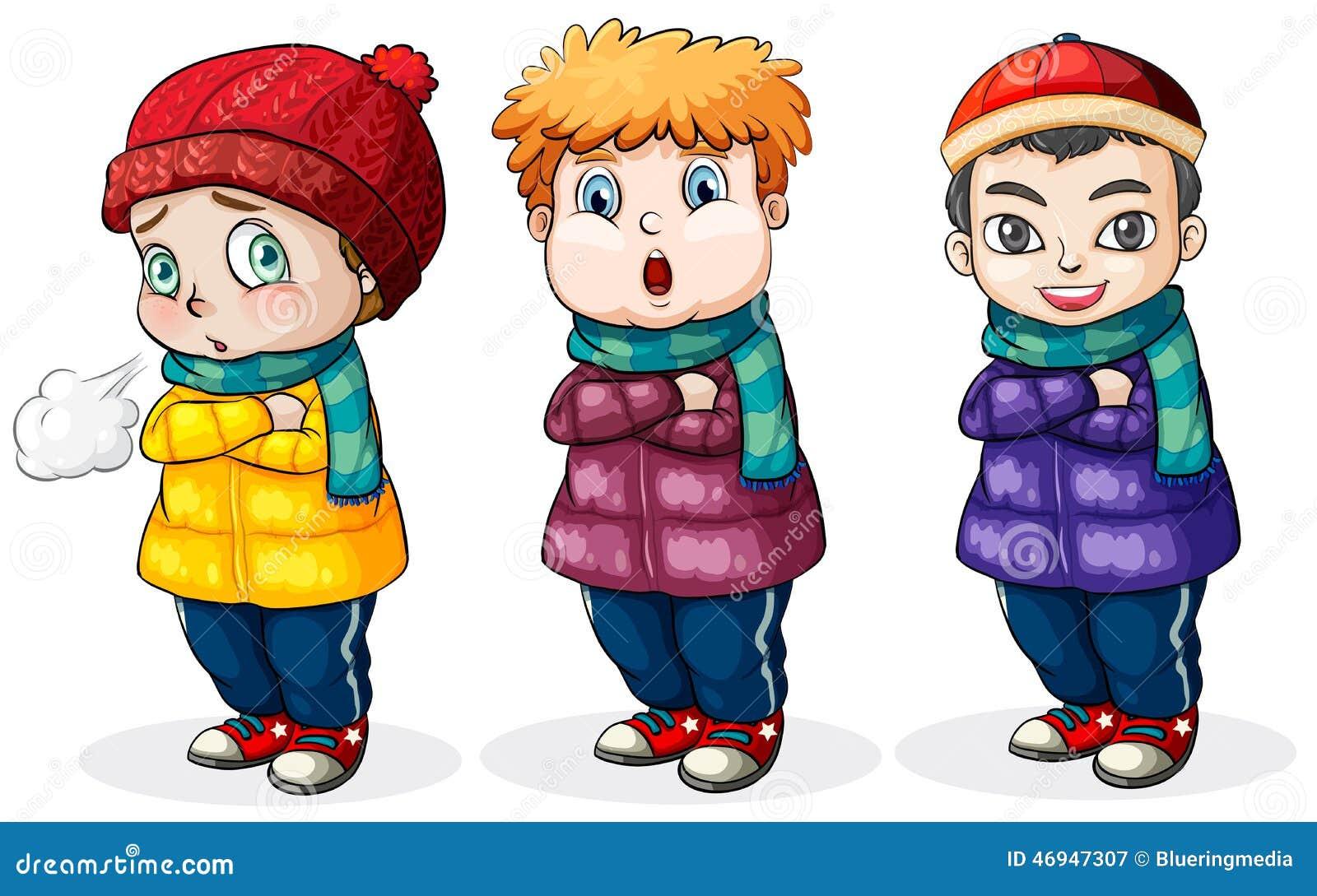 Tre ragazzini