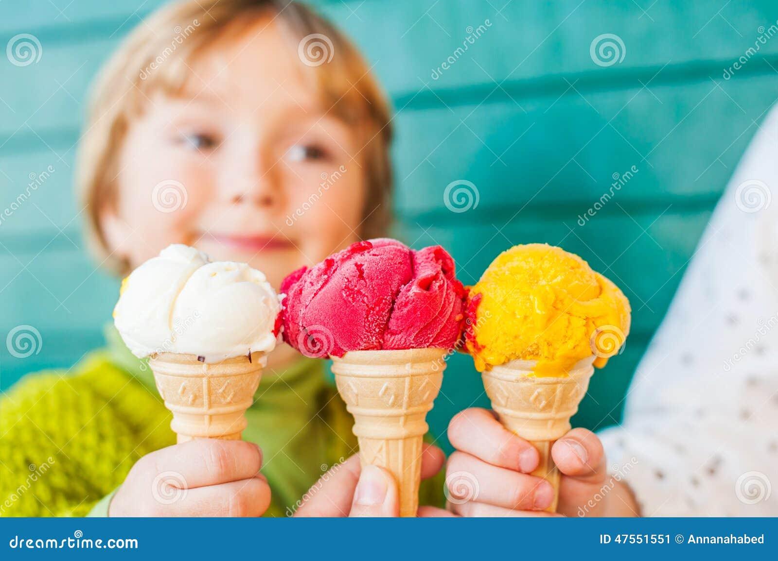 Tre semi del gelato