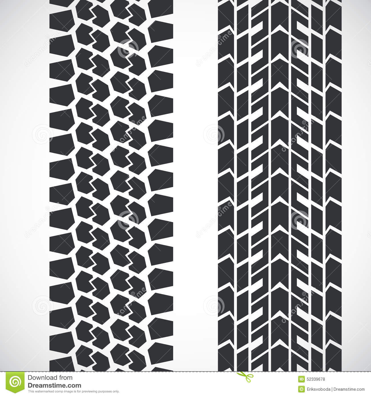 Tractor Tread Pattern : Tread pattern tyre stock vector illustration of tile