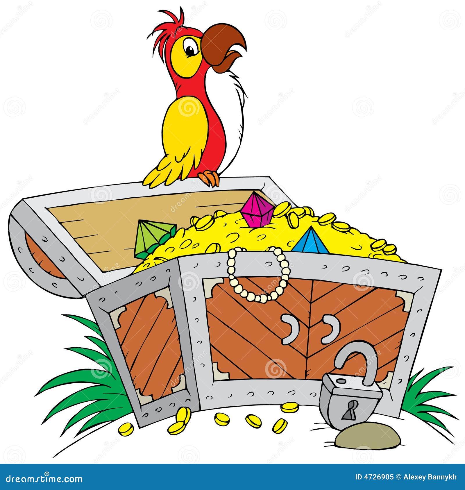 Treasure stock vector. Illustration of cartoon, humorous ...