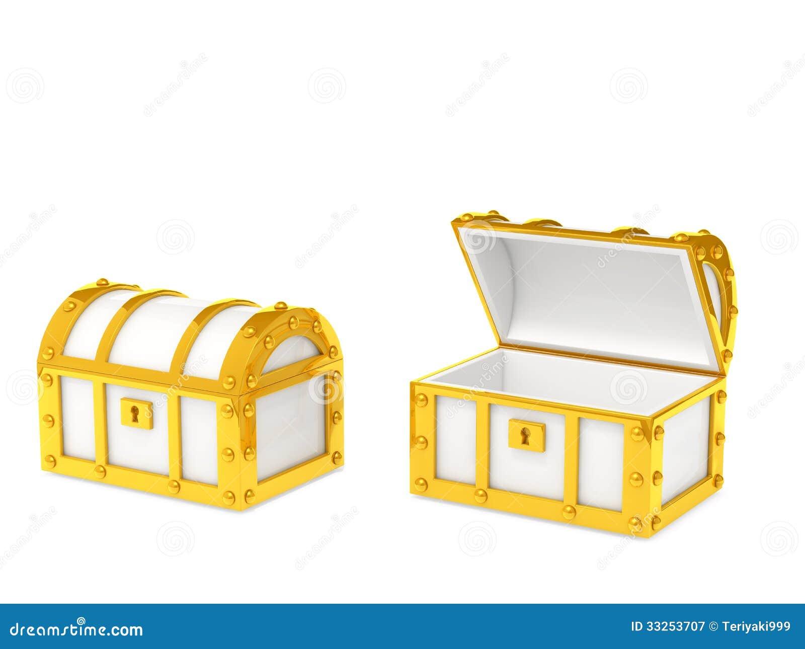 treasure box stock illustration illustration of isolated 33253707
